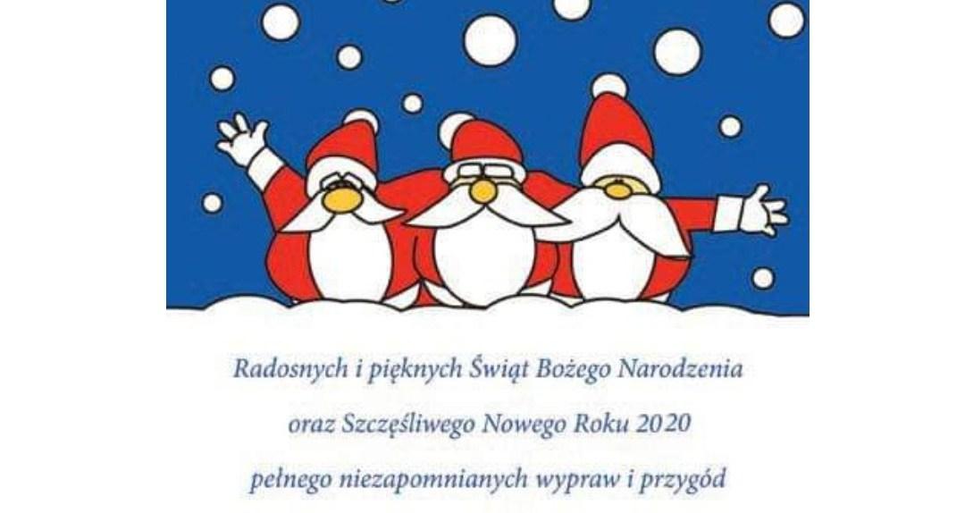 Wesołych Świąt i Szczęśliwego Nowego Roku 2020