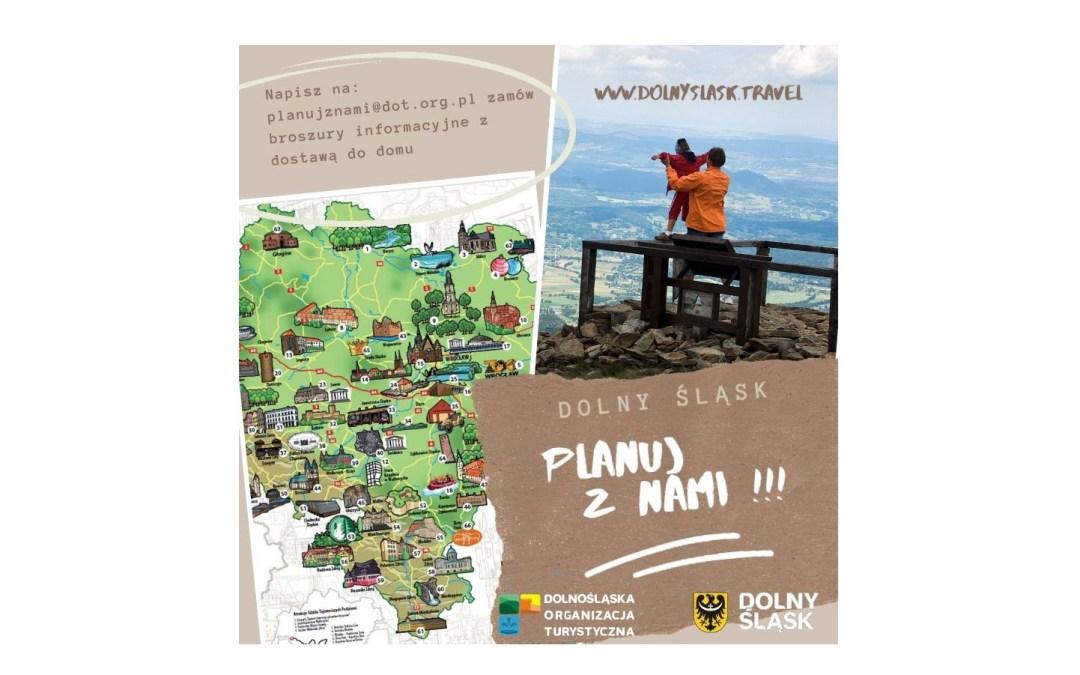 Planuj z nami – Dolny Śląsk; wysyłkowa kampania informacyjna dla turystów