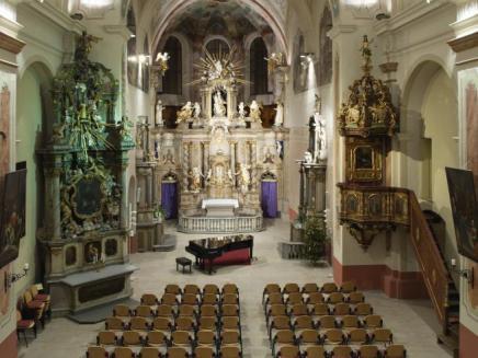 Šumperk, kościół Zwiastowania Marii Panny. fot. archiwum Kudyznudy