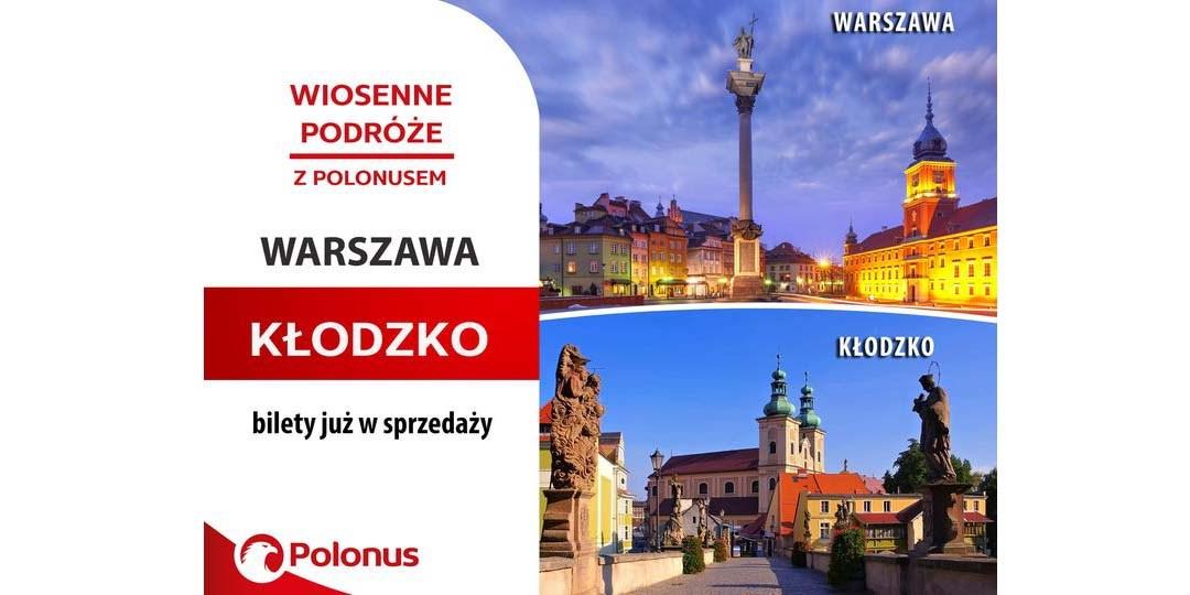 Z PKS POLONUS pojedziemy z Warszawy do Kudowy-Zdrój