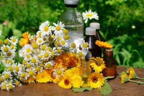 flower essential oil and tincture