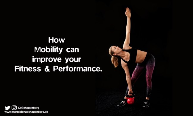 Mobility is an essential part of your fitness.