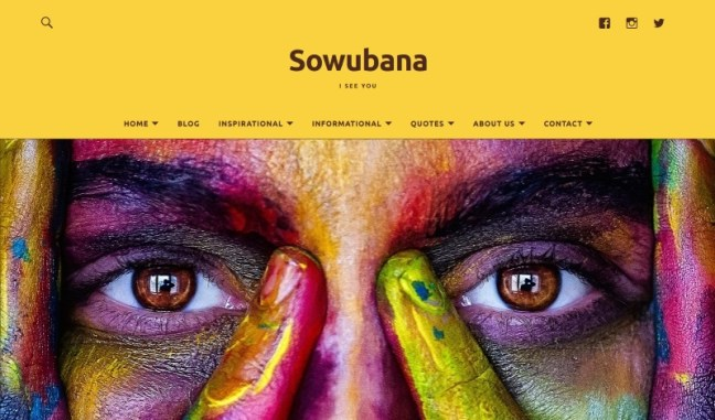 www.sowubana.me - the place for inspiration to create a happier life!