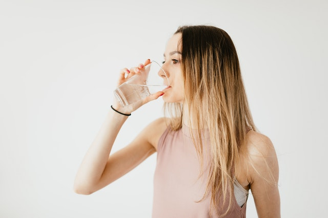 Beim Fasten muss man gut trinken.