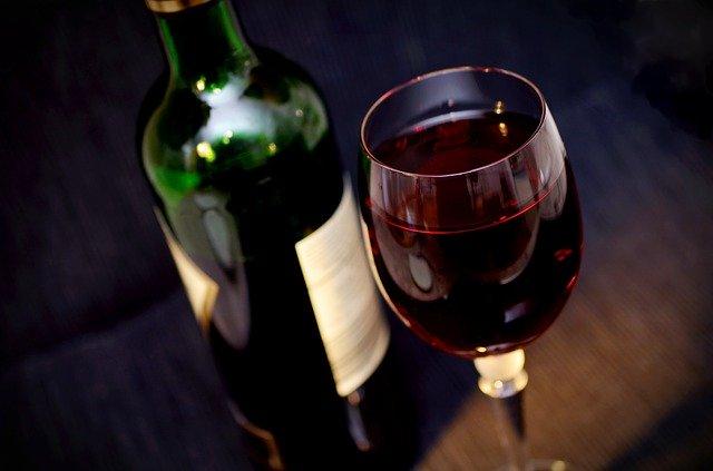 Wein hat viele Kalorien
