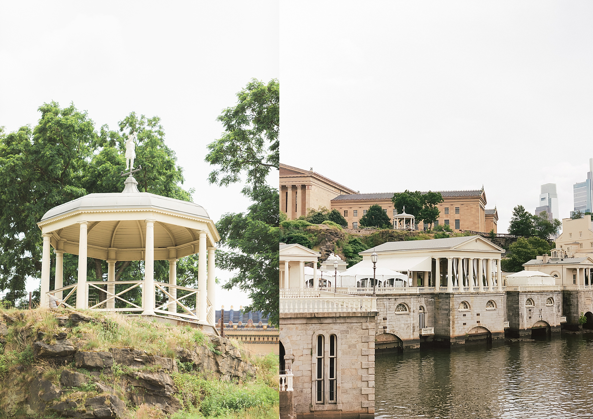 Candid and Genuine Fairmount Waterworks Philadelphia Wedding Photography by Magdalena Studios 0060 1