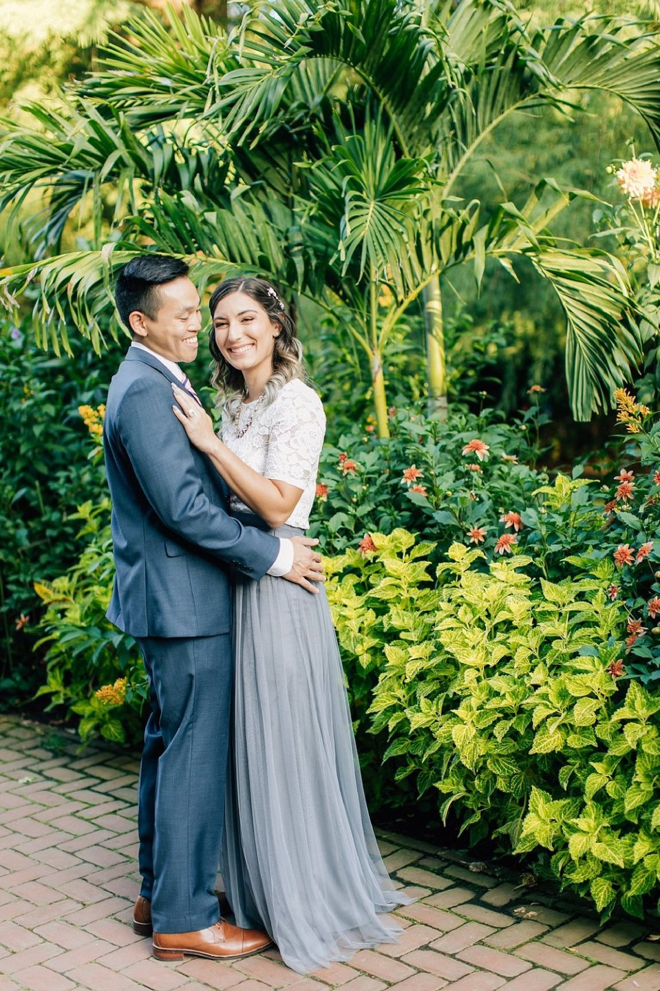 longwood gardens romantic summer engagement photography magdalena studios 0003