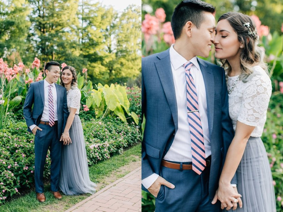 longwood gardens romantic summer engagement photography magdalena studios 0006