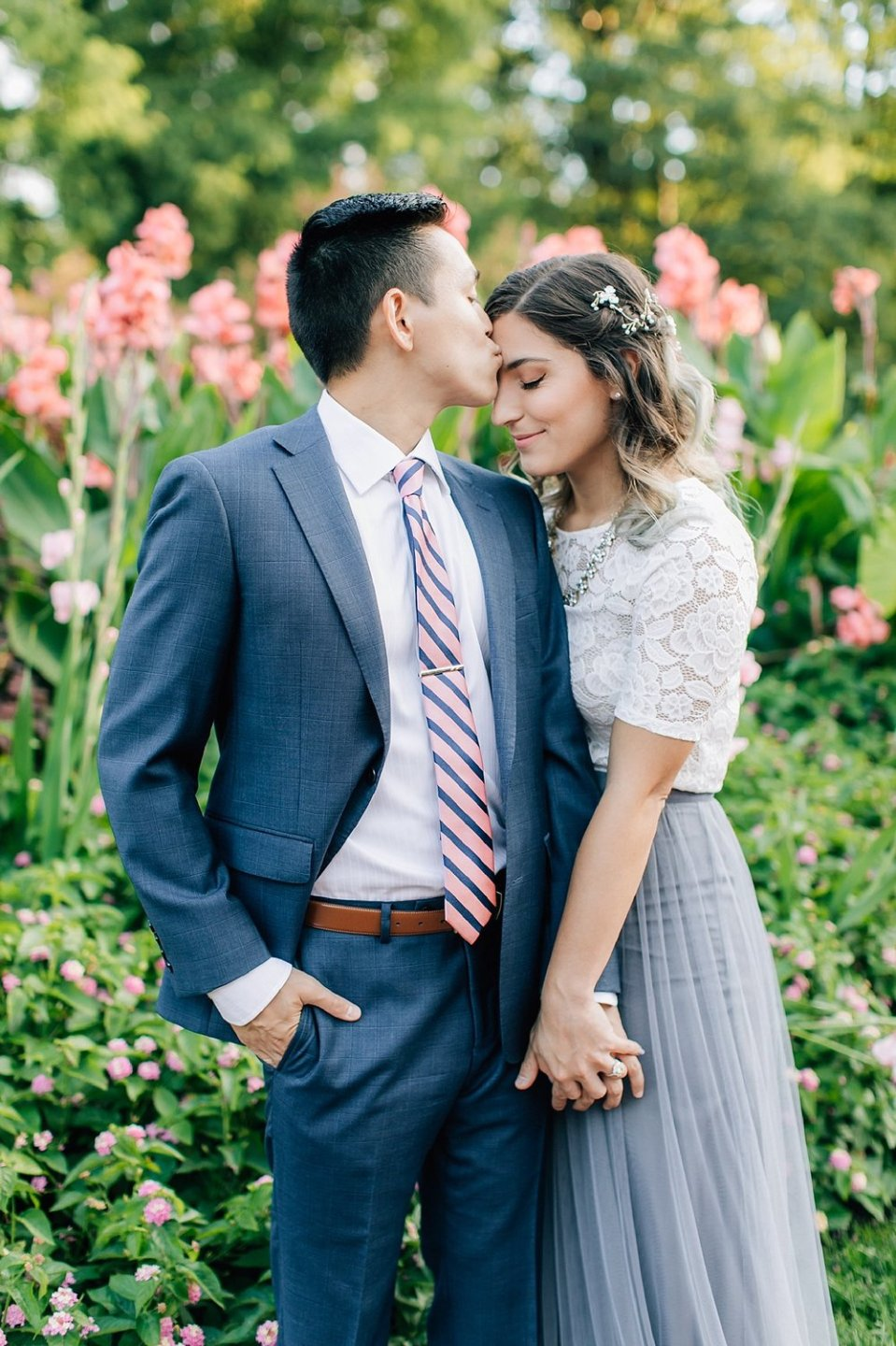 longwood gardens romantic summer engagement photography magdalena studios 0007