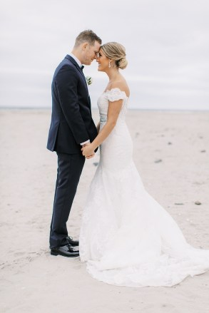 Candid and Sweet Beach Wedding Photography in Sea Isle City, NJ by Magdalena Studios_0039