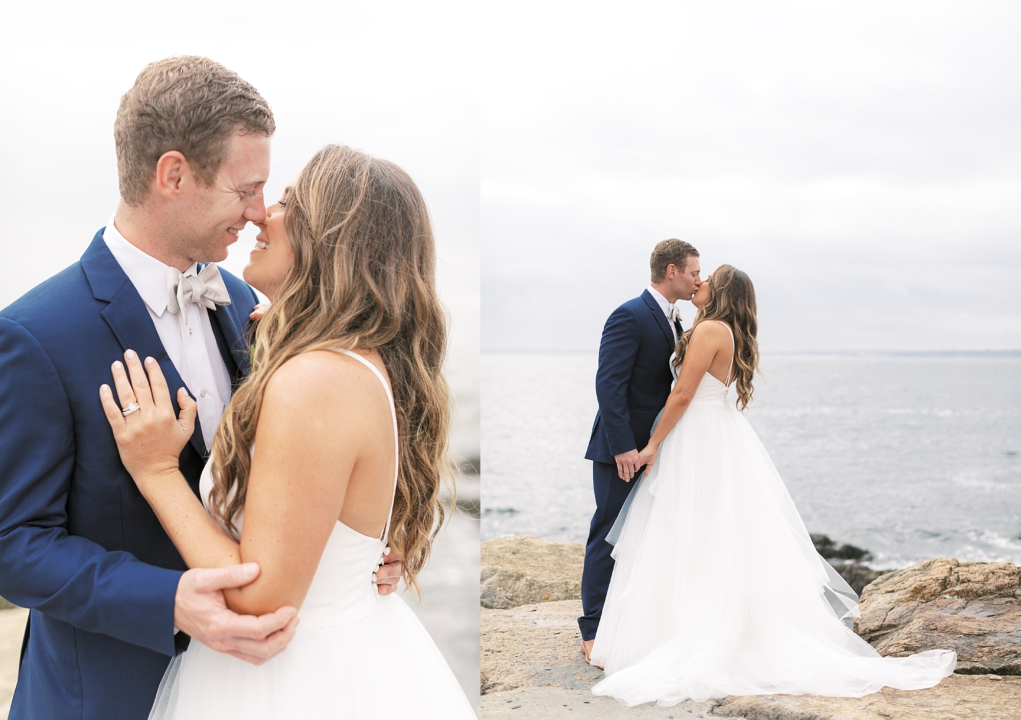 Coastal and Authentic Film Wedding Photography in Newport Rhode Island by Magdalena Studios 0028