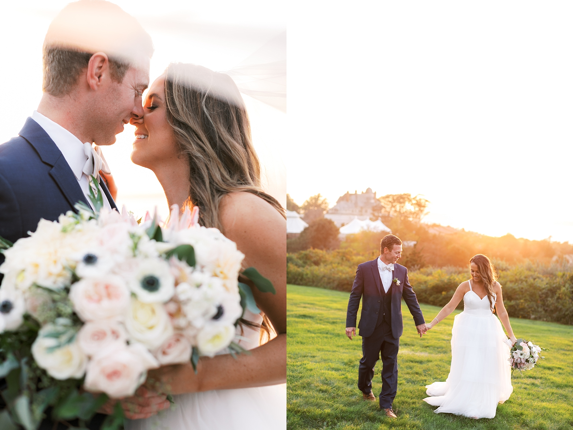 Coastal and Authentic Film Wedding Photography in Newport Rhode Island by Magdalena Studios 0076