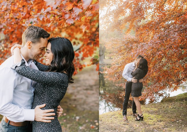 Cozy and Romantic Autumn Engagement Photography by Magdalena Studios 0006