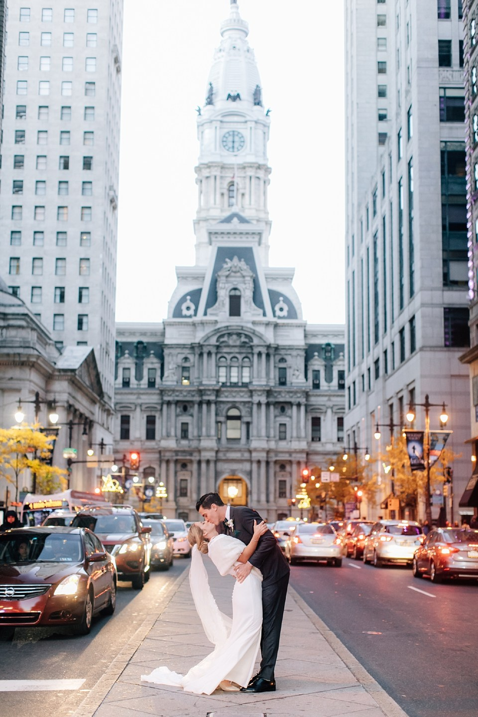 Romantic and Modern City Wedding Photography in Philadelphia PA by Magdalena Studios 0046