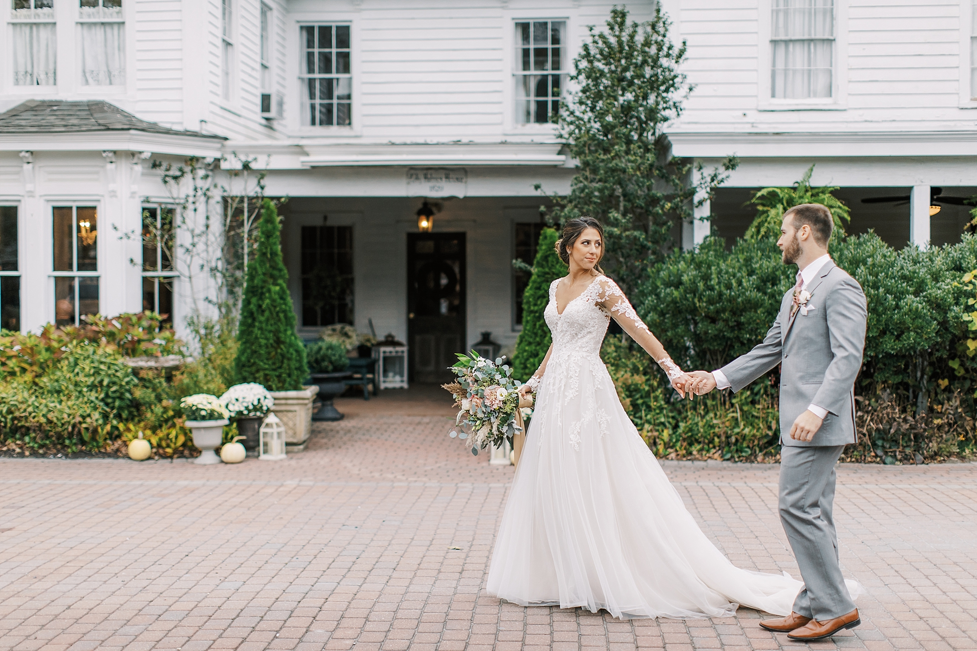 Sweet Garden Wedding Photography Abbie Holmes Estate in Cape May NJ by Magdalena Studios 0054