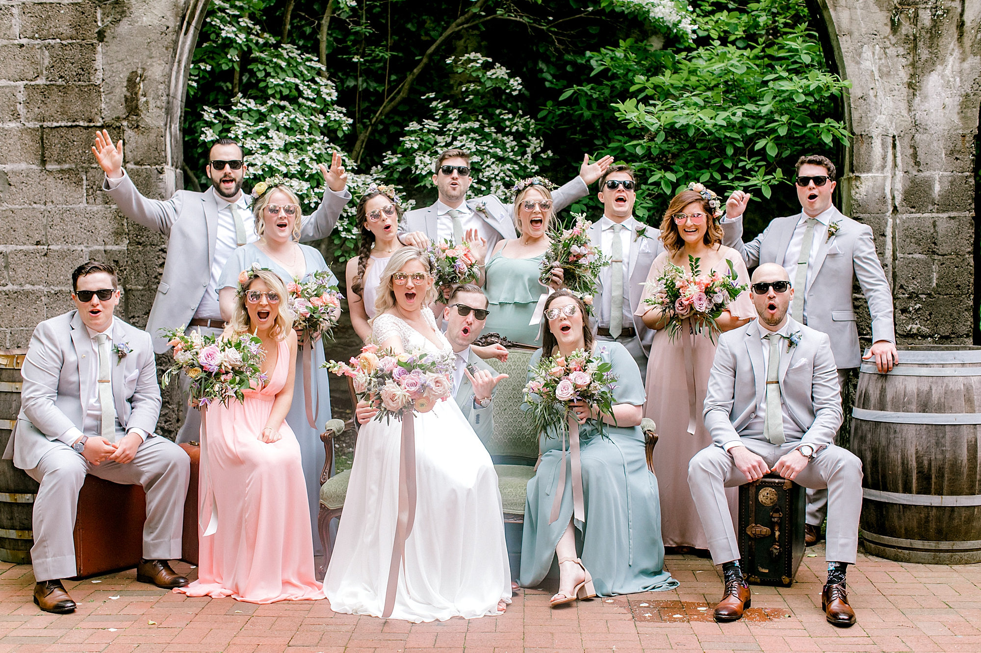 Intimate and Sweet Estate Wedding Photography by Magdalena Studios 0042