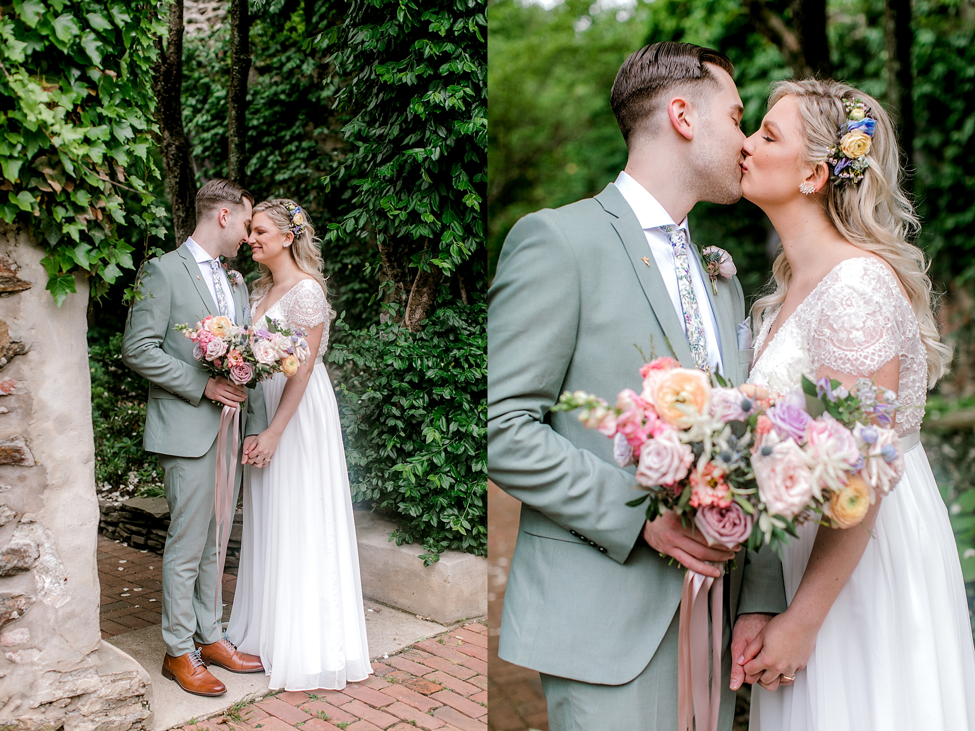 Intimate and Sweet Estate Wedding Photography by Magdalena Studios 0048