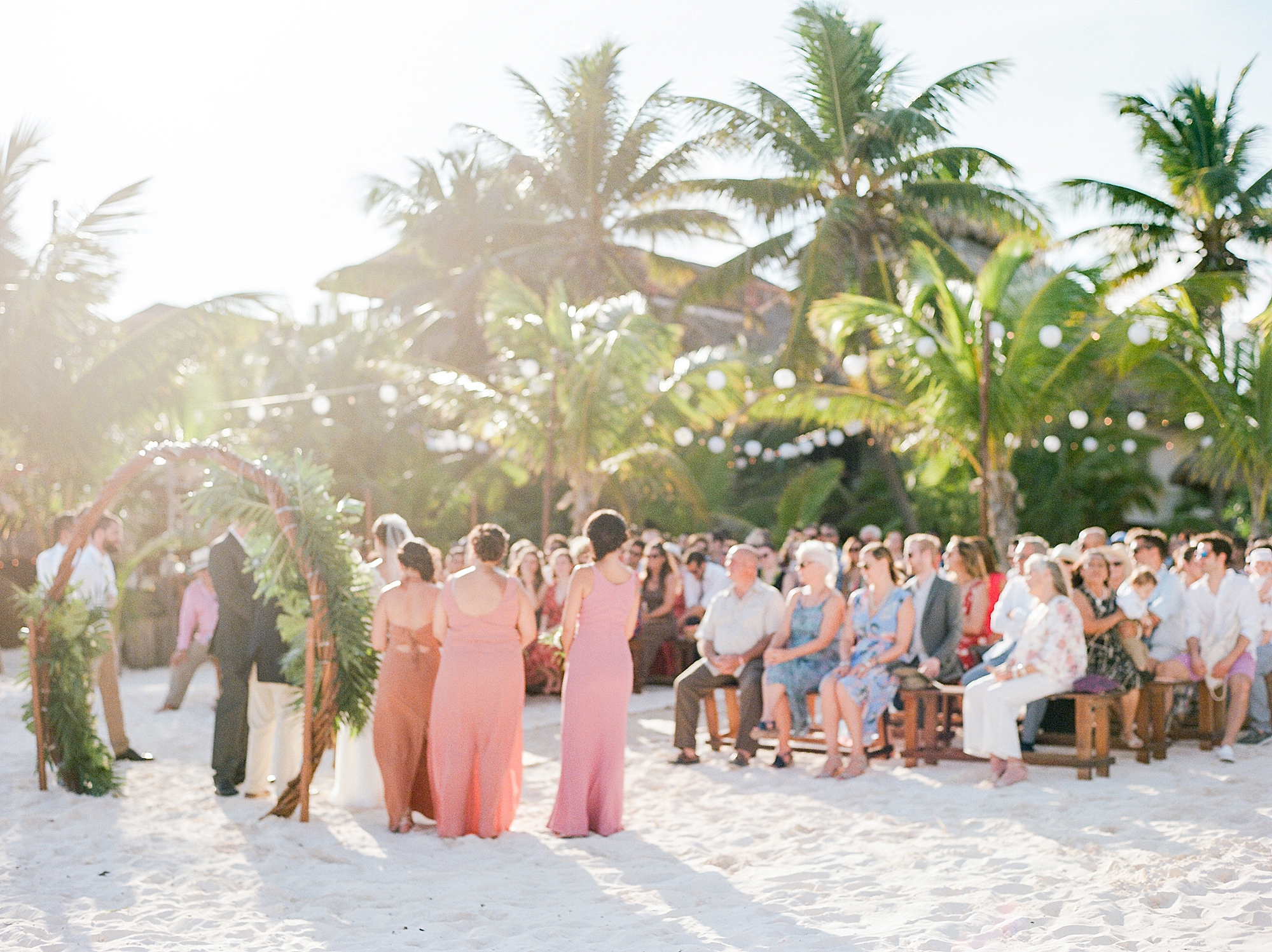 Stylish and Candid Destination Film Wedding Photography in Tulum Mexico by Magdalena Studios 0011