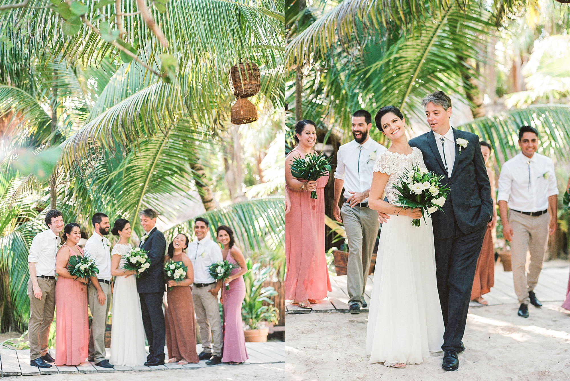 Stylish and Candid Destination Film Wedding Photography in Tulum Mexico by Magdalena Studios 0015