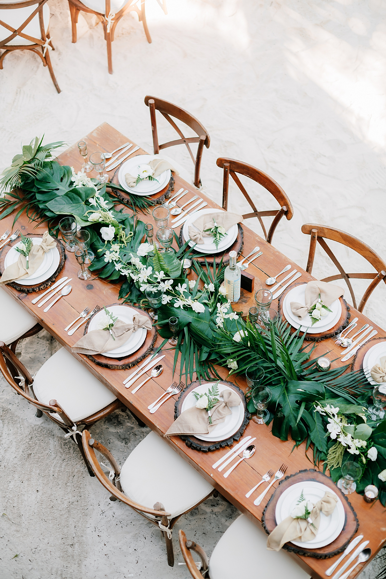 Stylish and Candid Destination Film Wedding Photography in Tulum Mexico by Magdalena Studios 0029