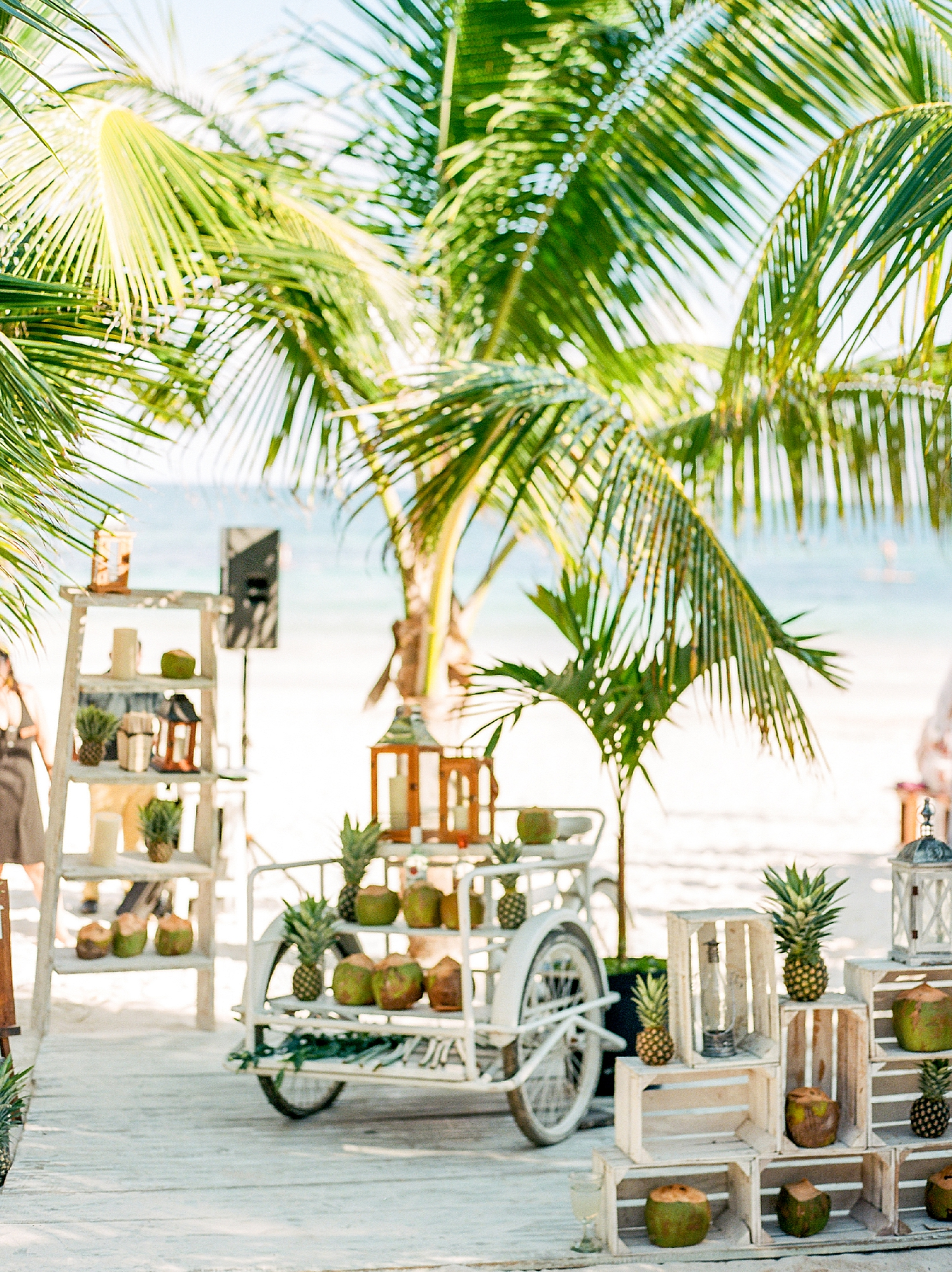 Stylish and Candid Destination Film Wedding Photography in Tulum Mexico by Magdalena Studios 0038