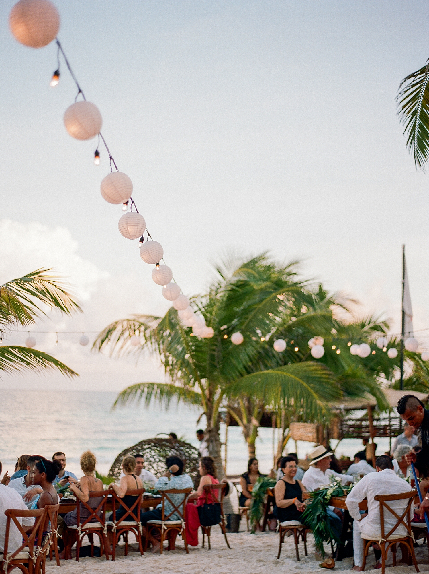 Stylish and Candid Destination Film Wedding Photography in Tulum Mexico by Magdalena Studios 0052.