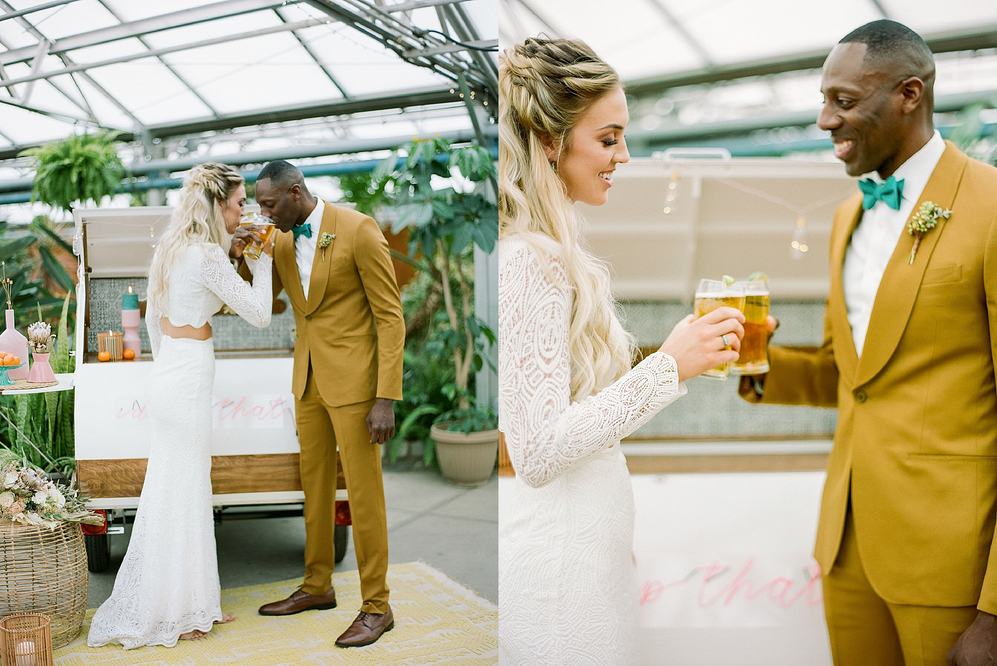 Colorful and Vibrant Wedding Photography at Fairmount Horticultural Center by Magdalena Studios 0020