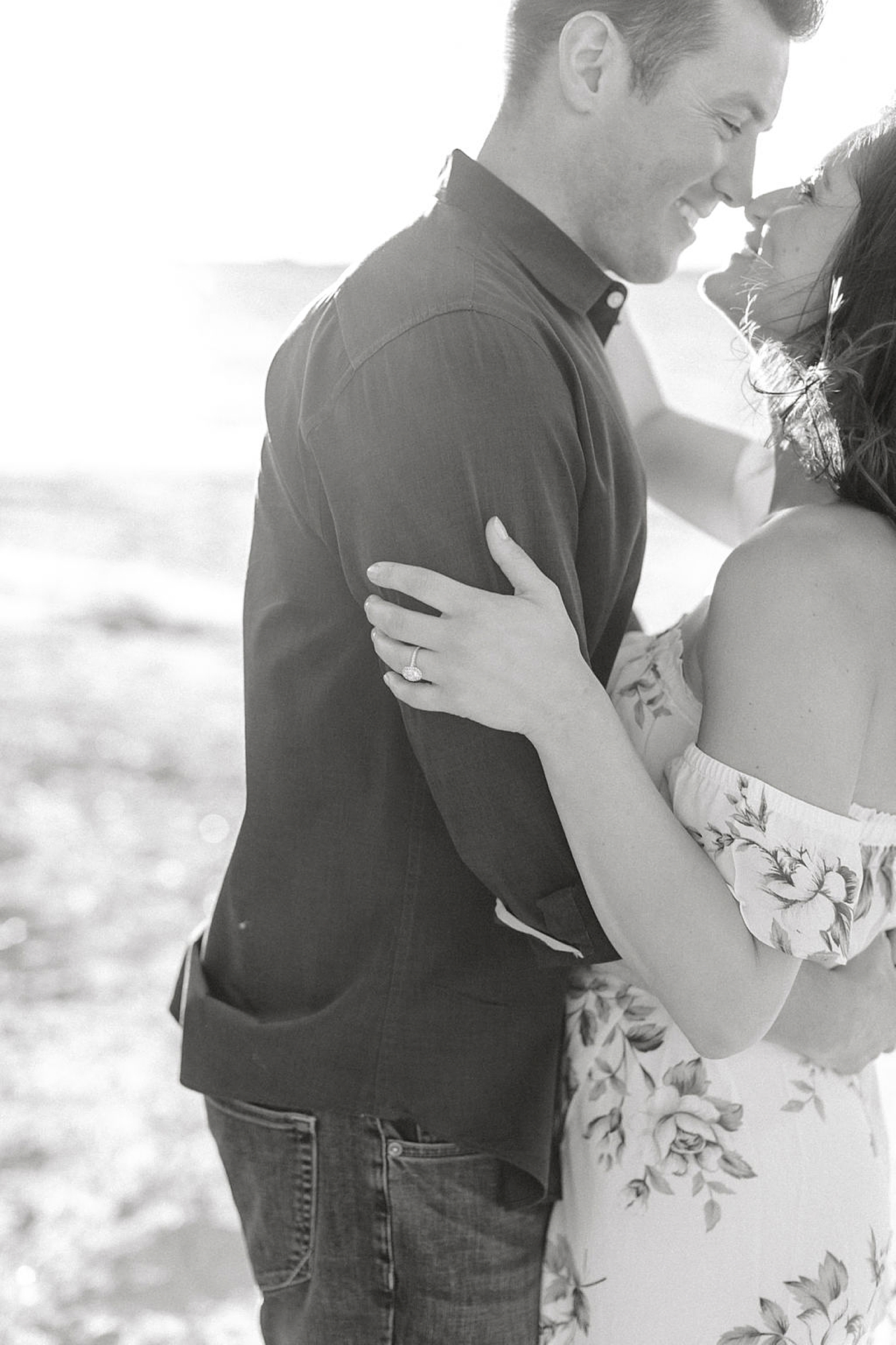 Film Engagement Session Photography in Ocean City NJ by Magdalena Studios 0038