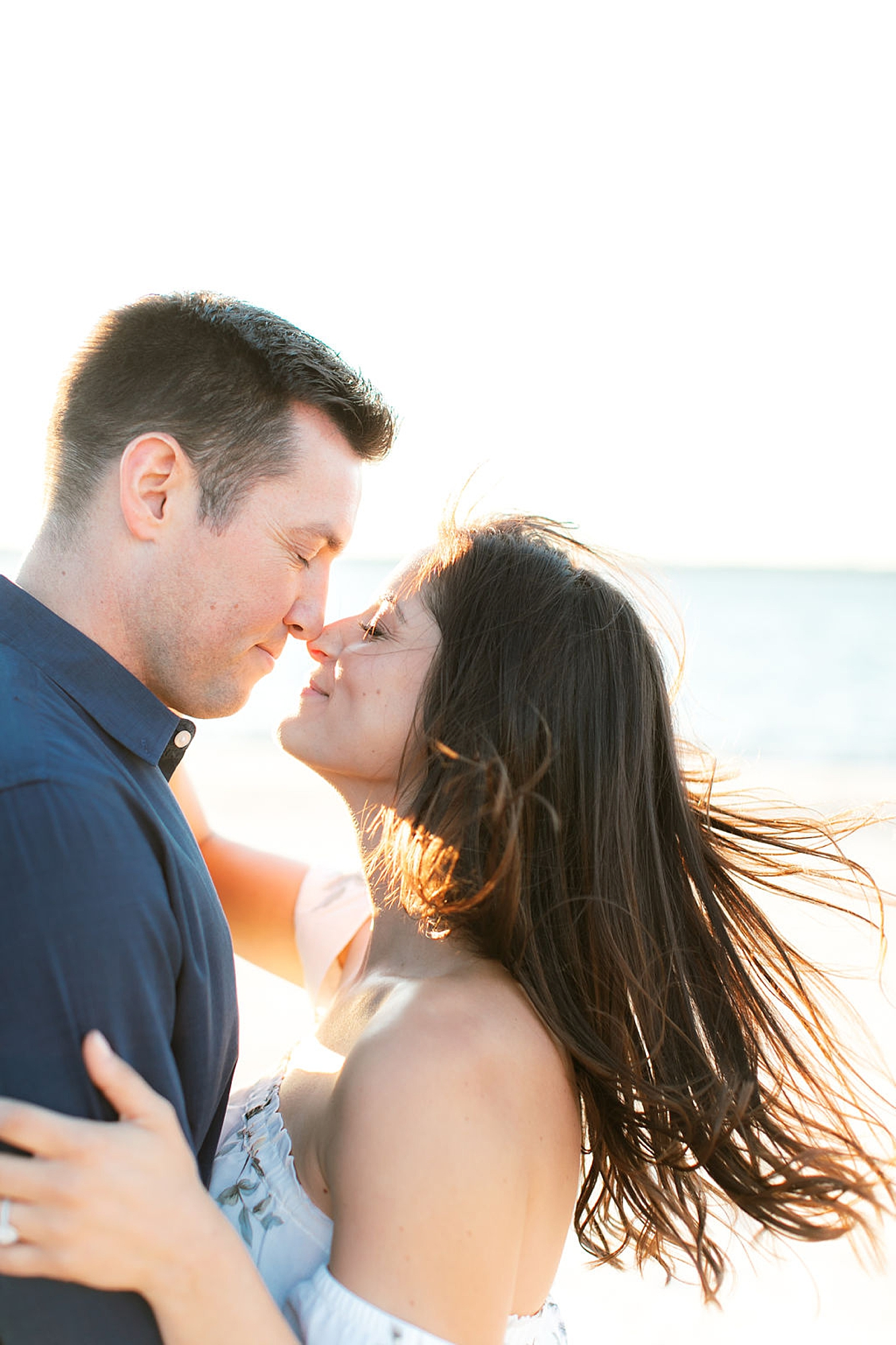 Film Engagement Session Photography in Ocean City NJ by Magdalena Studios 0039