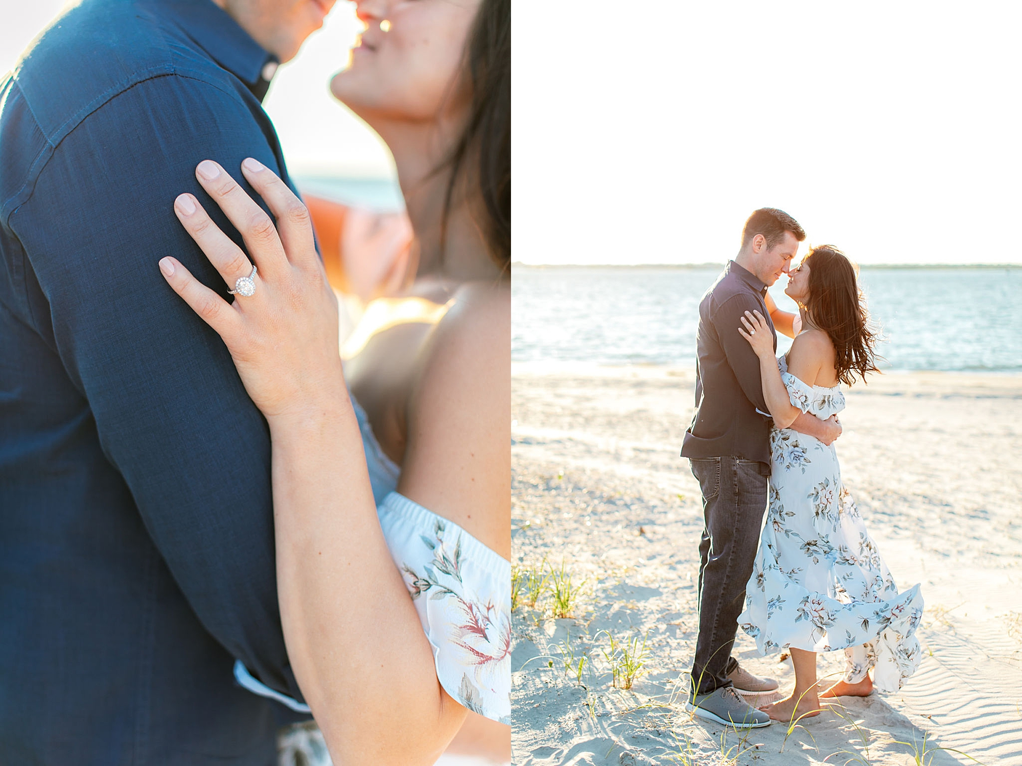 Film Engagement Session Photography in Ocean City NJ by Magdalena Studios 0040