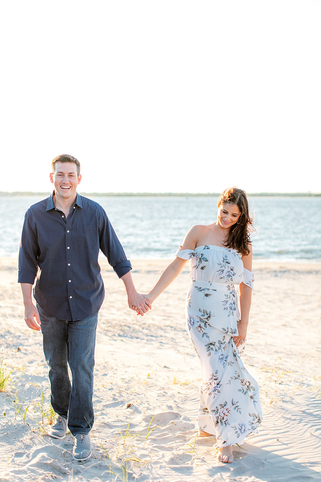 Film Engagement Session Photography in Ocean City NJ by Magdalena Studios 0041