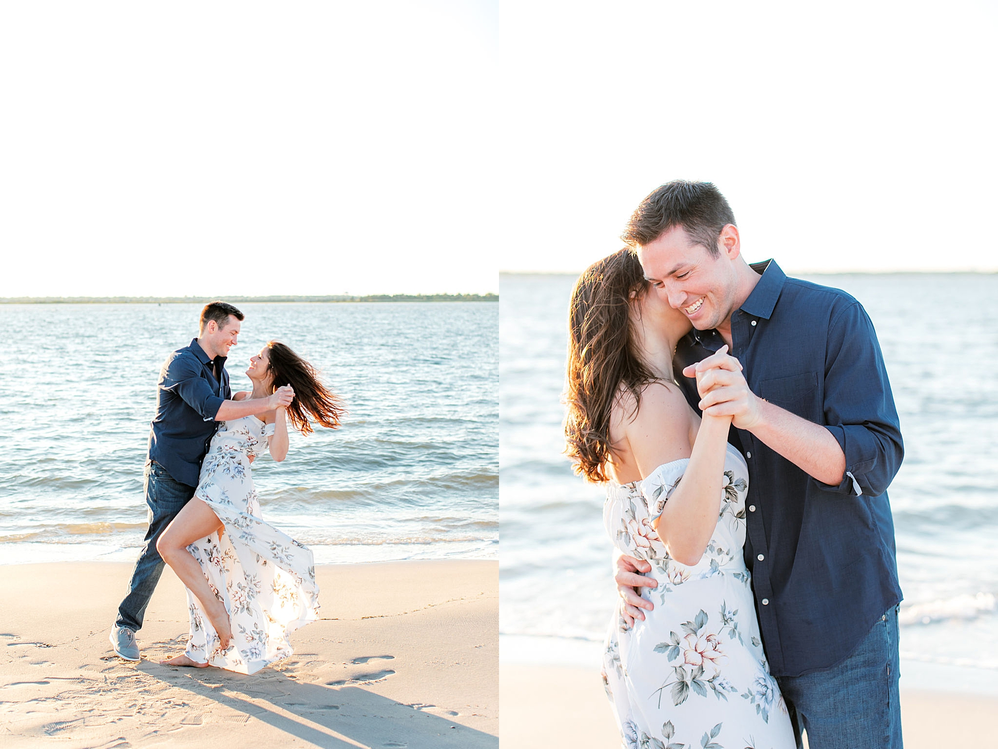 Film Engagement Session Photography in Ocean City NJ by Magdalena Studios 0043
