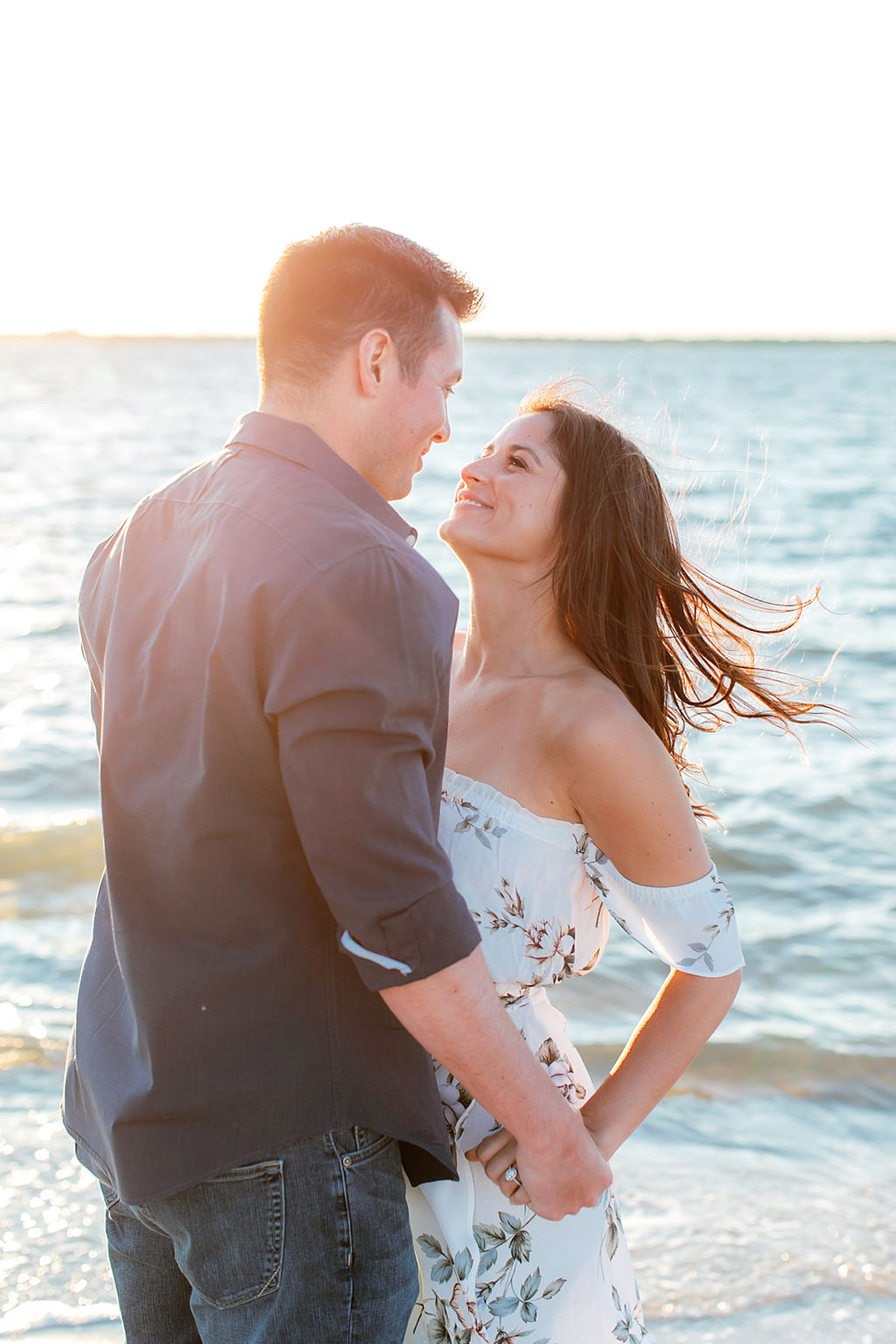 Film Engagement Session Photography in Ocean City NJ by Magdalena Studios 0045