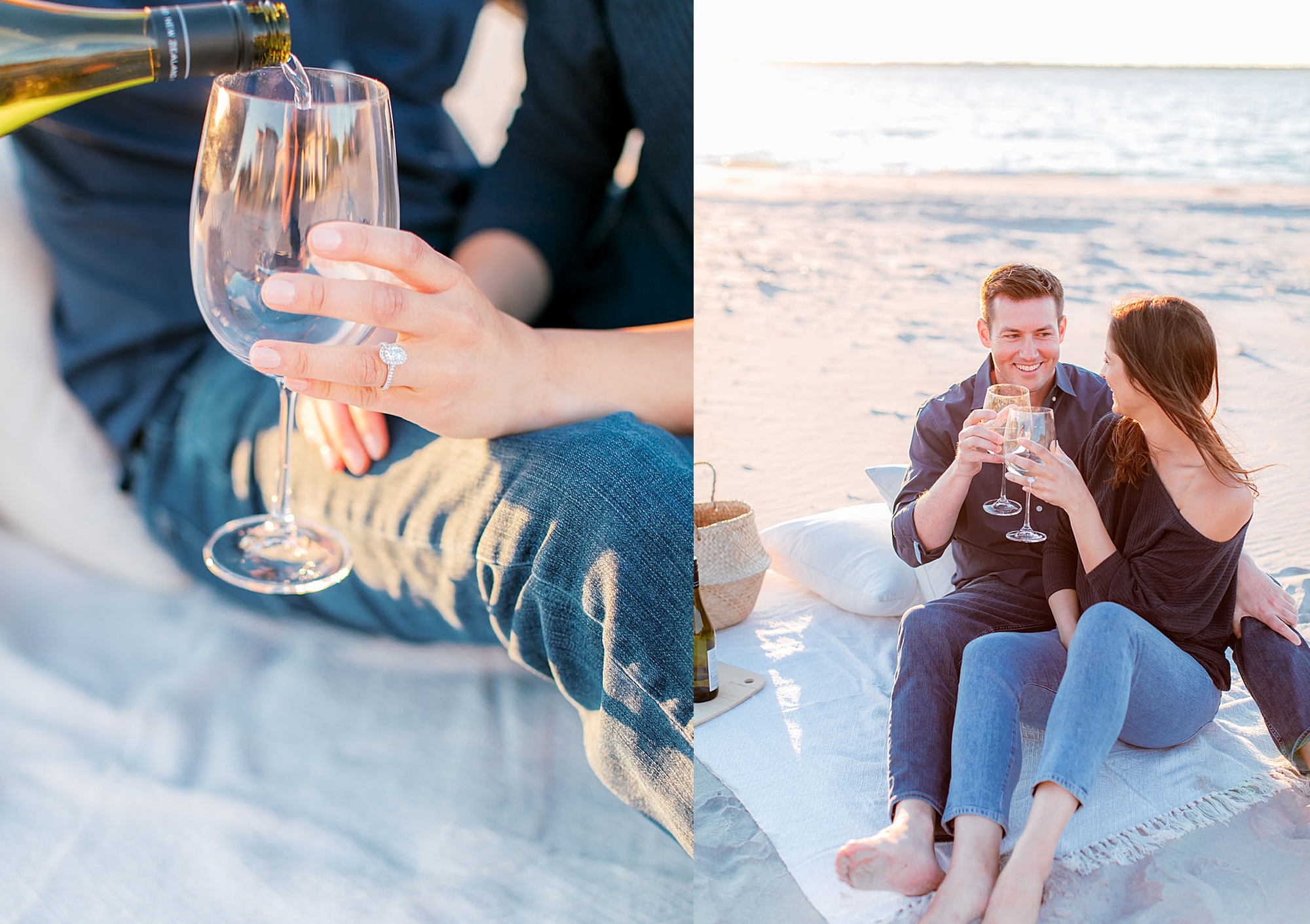 Film Engagement Session Photography in Ocean City NJ by Magdalena Studios 0047
