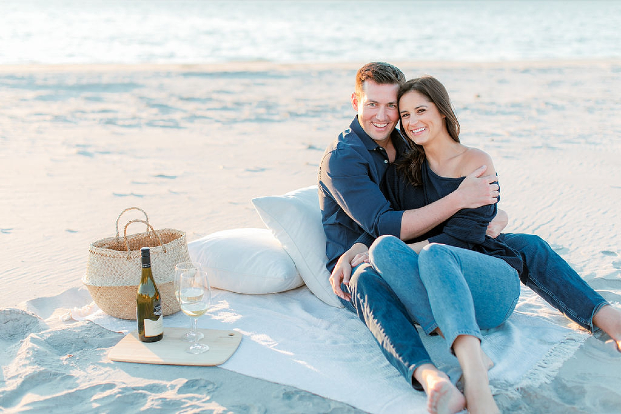 Film Engagement Session Photography in Ocean City NJ by Magdalena Studios 0048