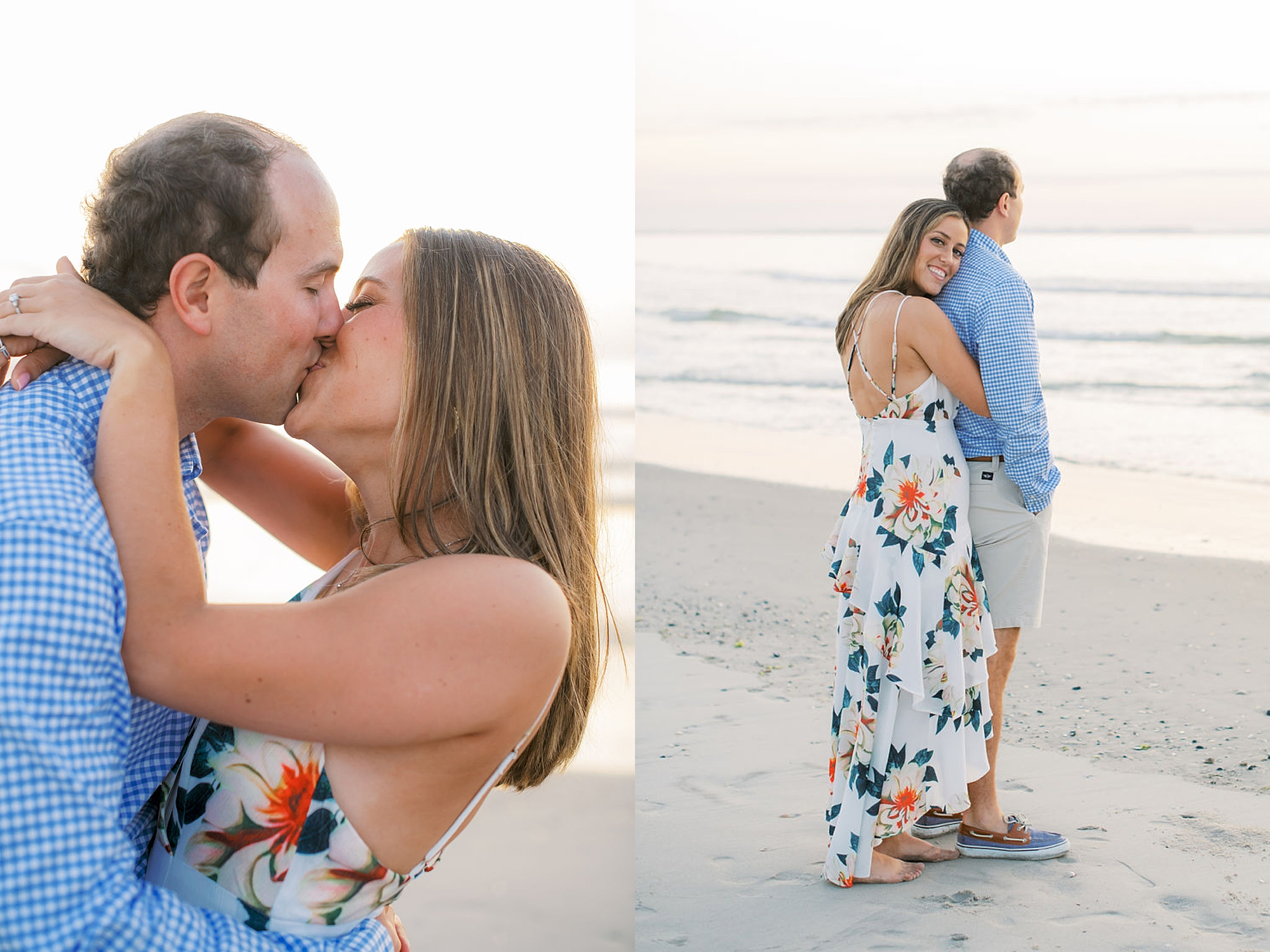 Organic and Romantic Engagement Photography in Ocean City NJ by Magdalena Studios 0004
