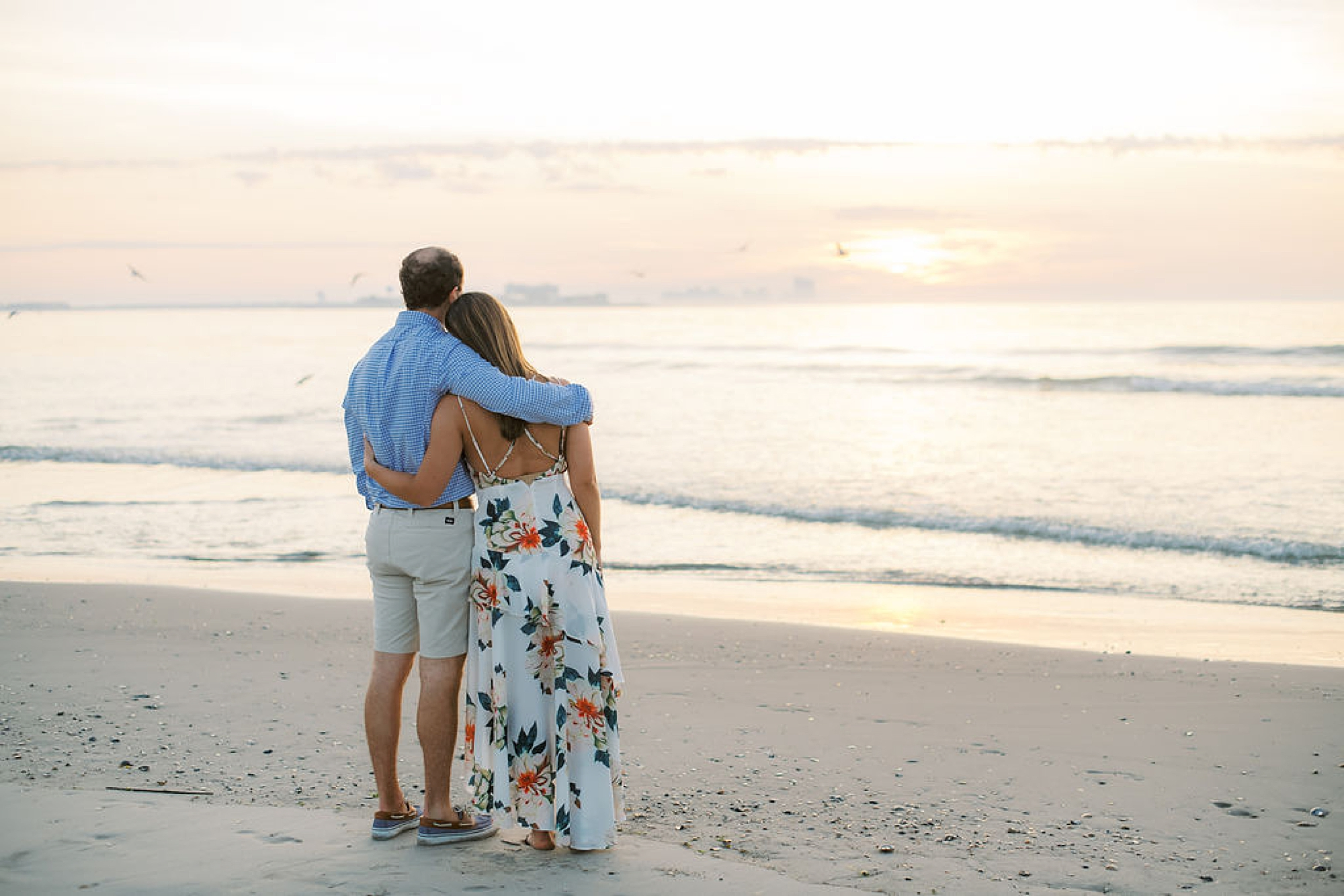 Organic and Romantic Engagement Photography in Ocean City NJ by Magdalena Studios 0009