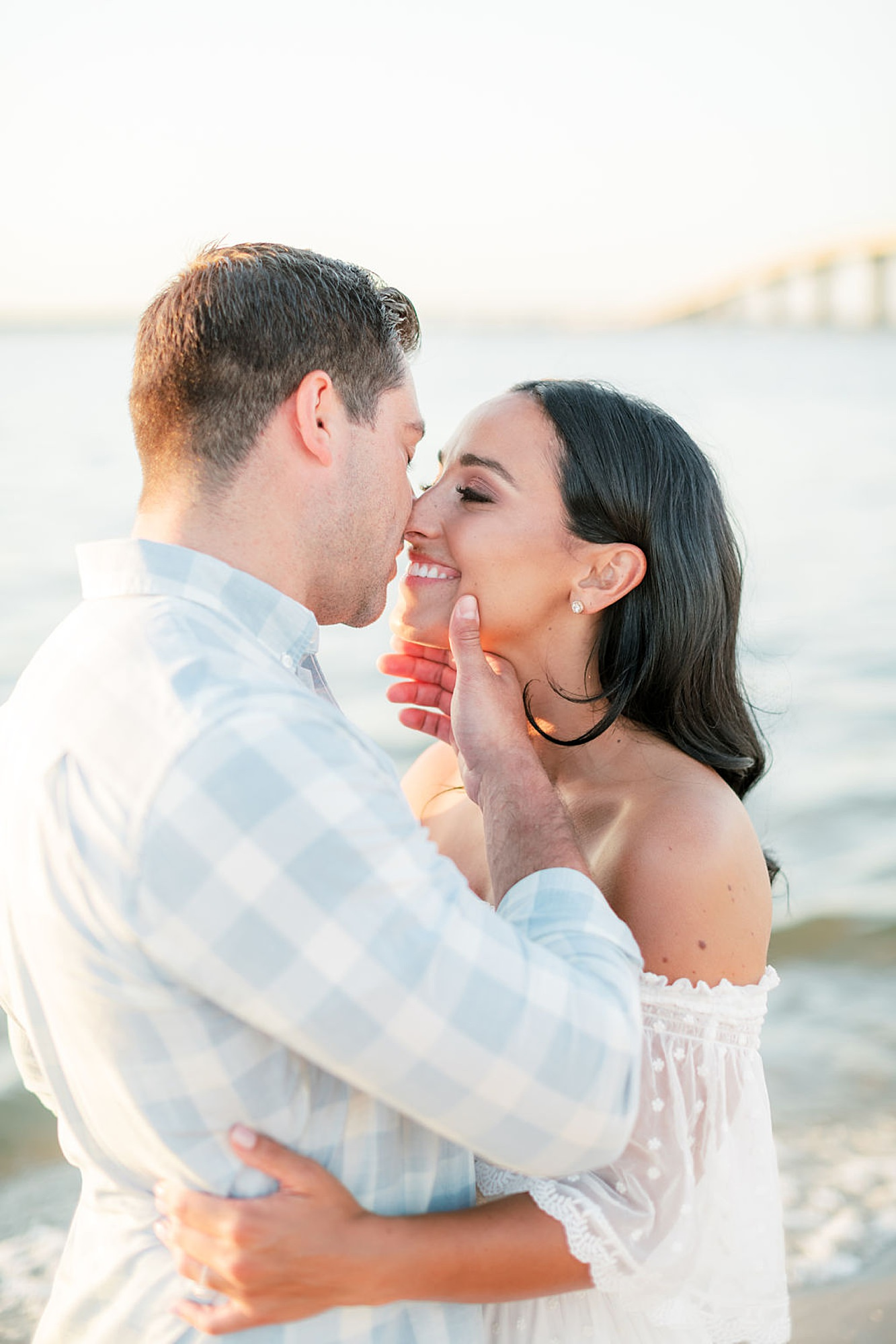 Airy and Bright Engagement Photography in Ocean City NJ by Magdalena Studios 0028