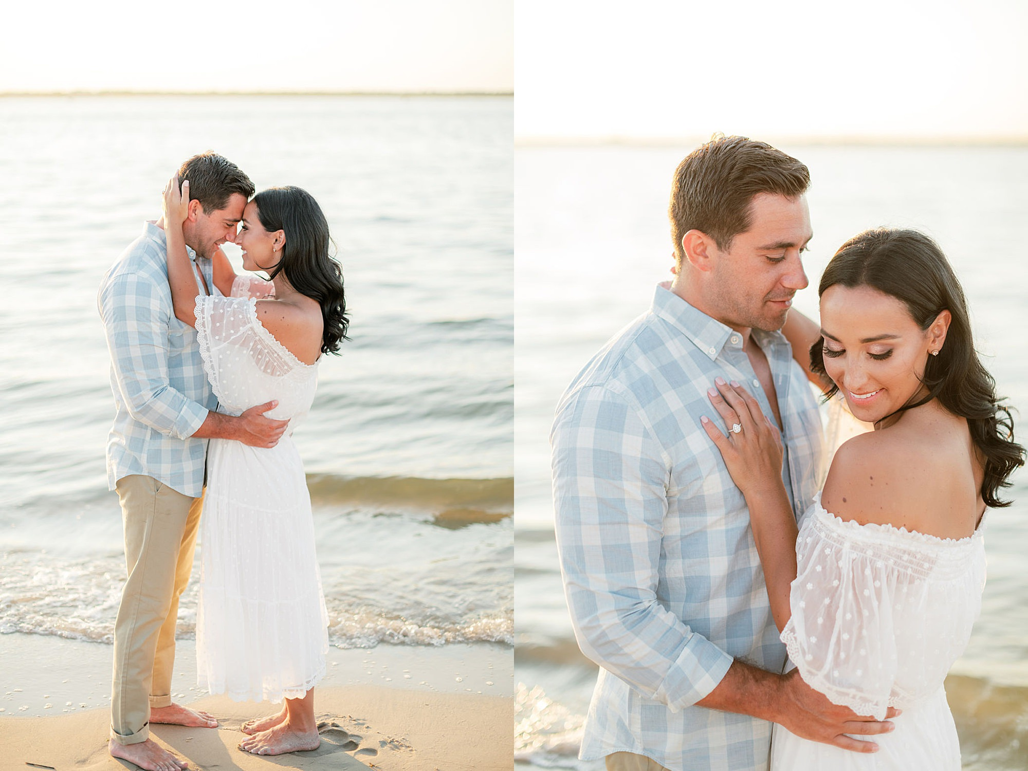Airy and Bright Engagement Photography in Ocean City NJ by Magdalena Studios 0029