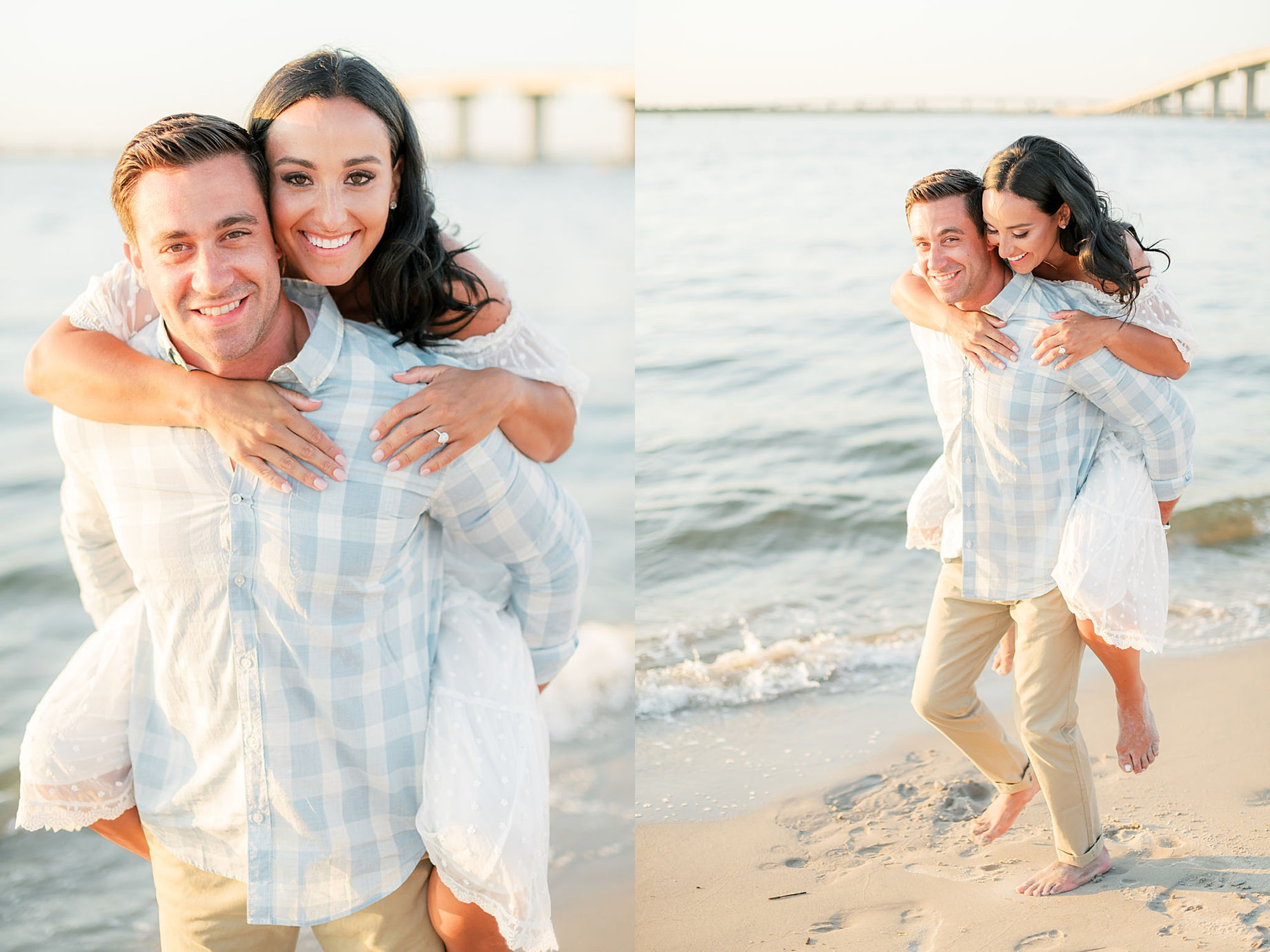 Airy and Bright Engagement Photography in Ocean City NJ by Magdalena Studios 0031