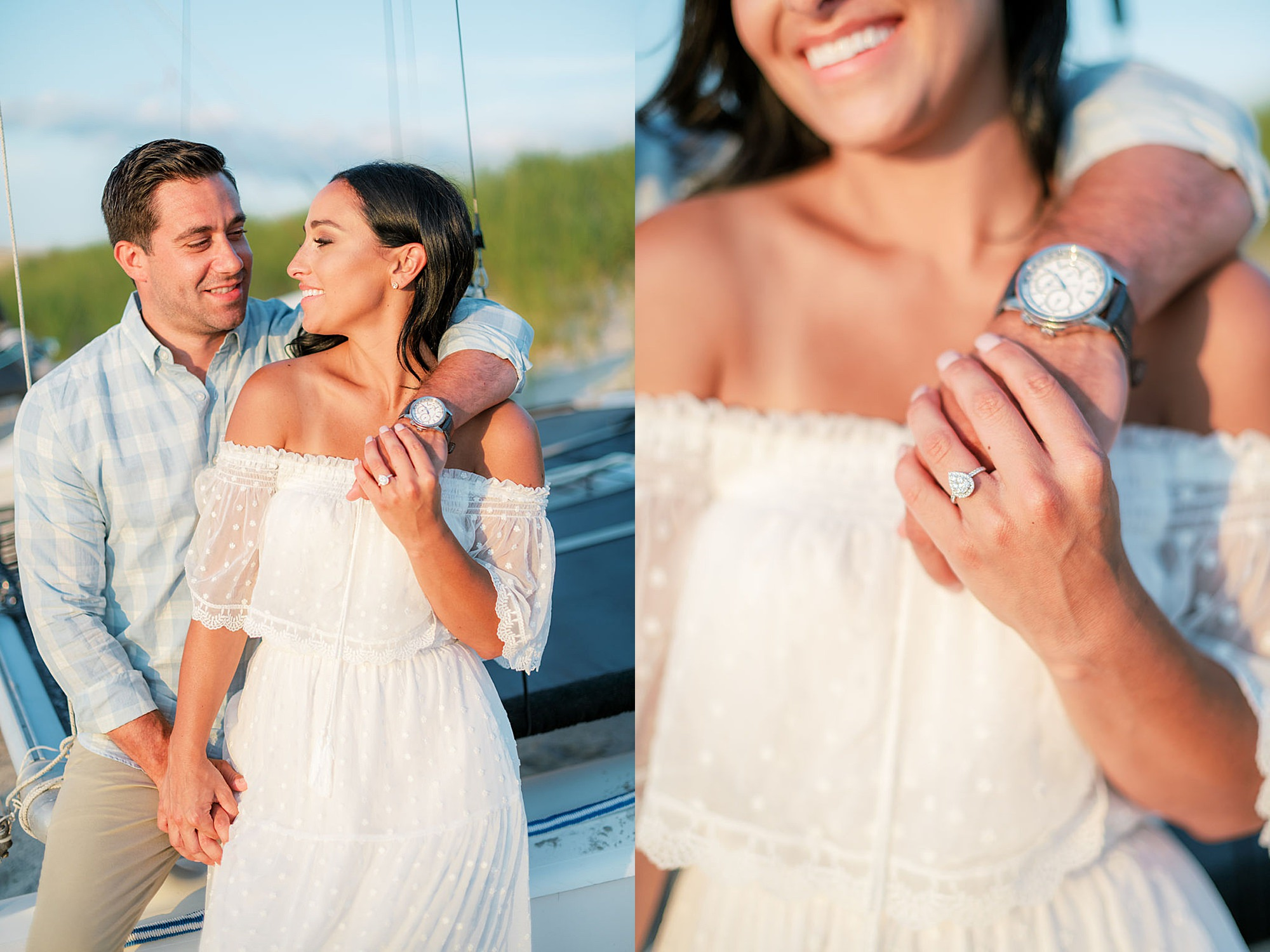 Airy and Bright Engagement Photography in Ocean City NJ by Magdalena Studios 0033