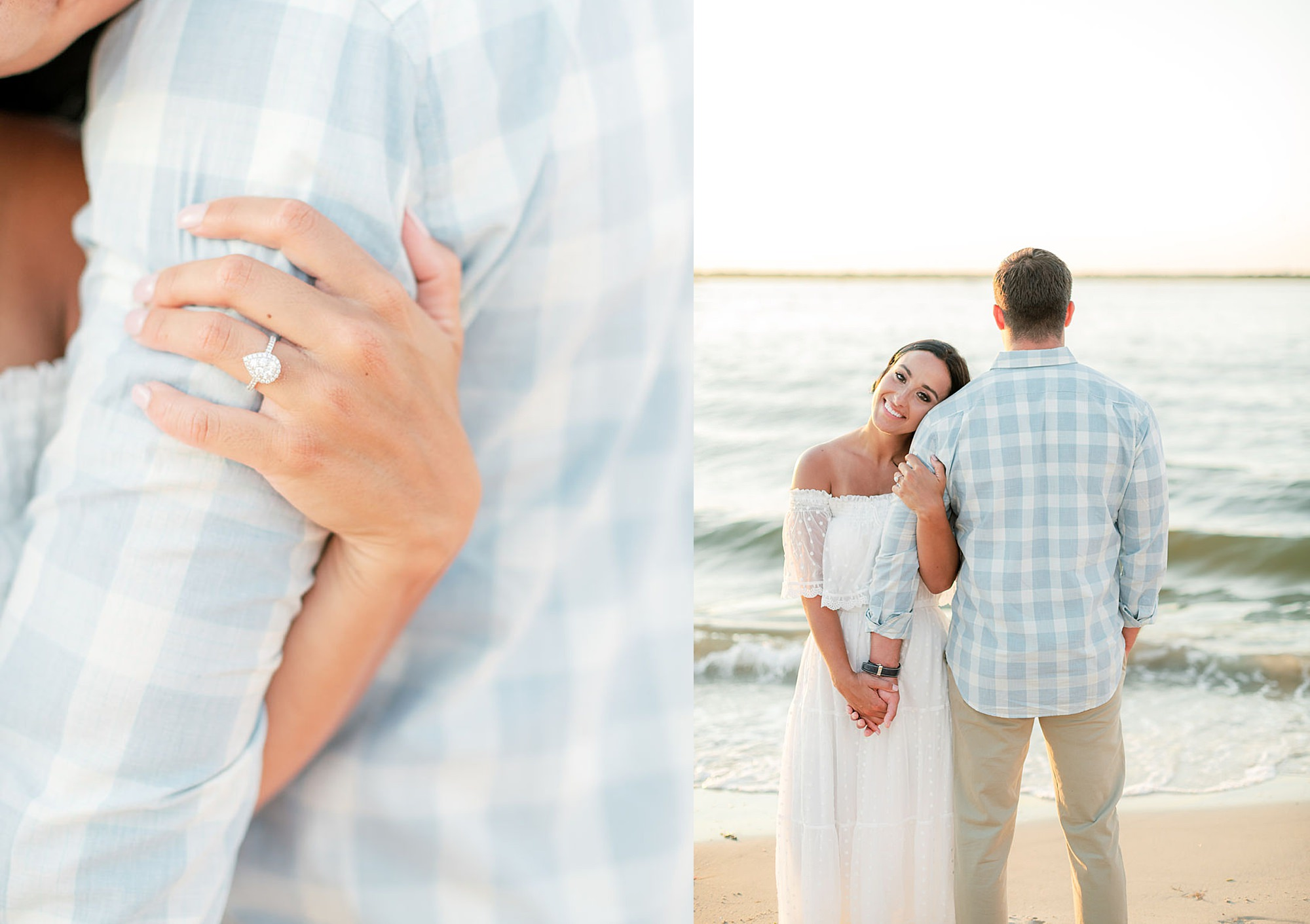 Airy and Bright Engagement Photography in Ocean City NJ by Magdalena Studios 0036