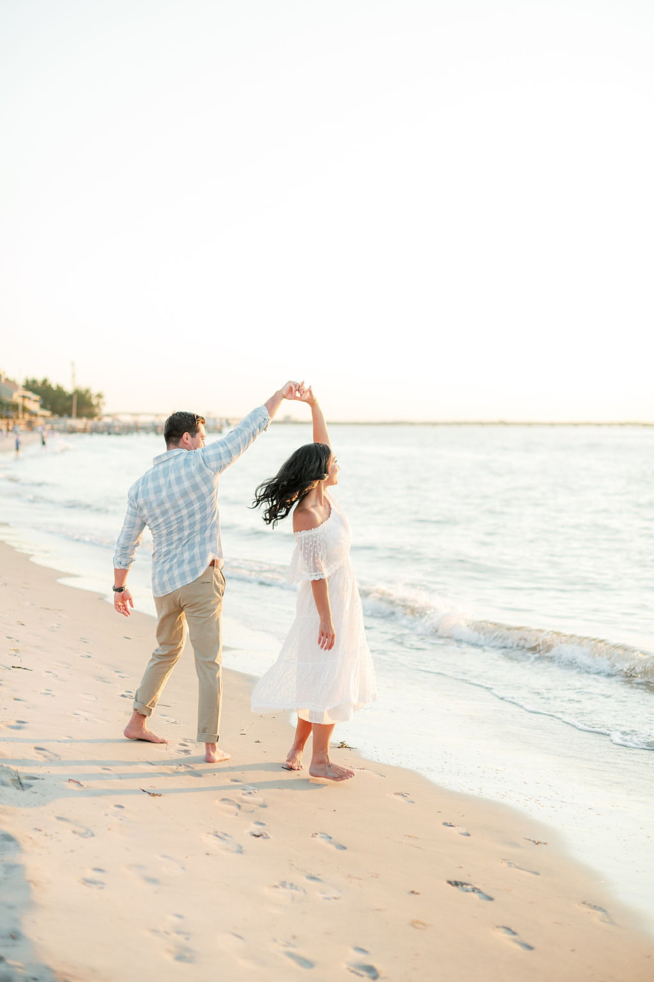 Airy and Bright Engagement Photography in Ocean City NJ by Magdalena Studios 0037