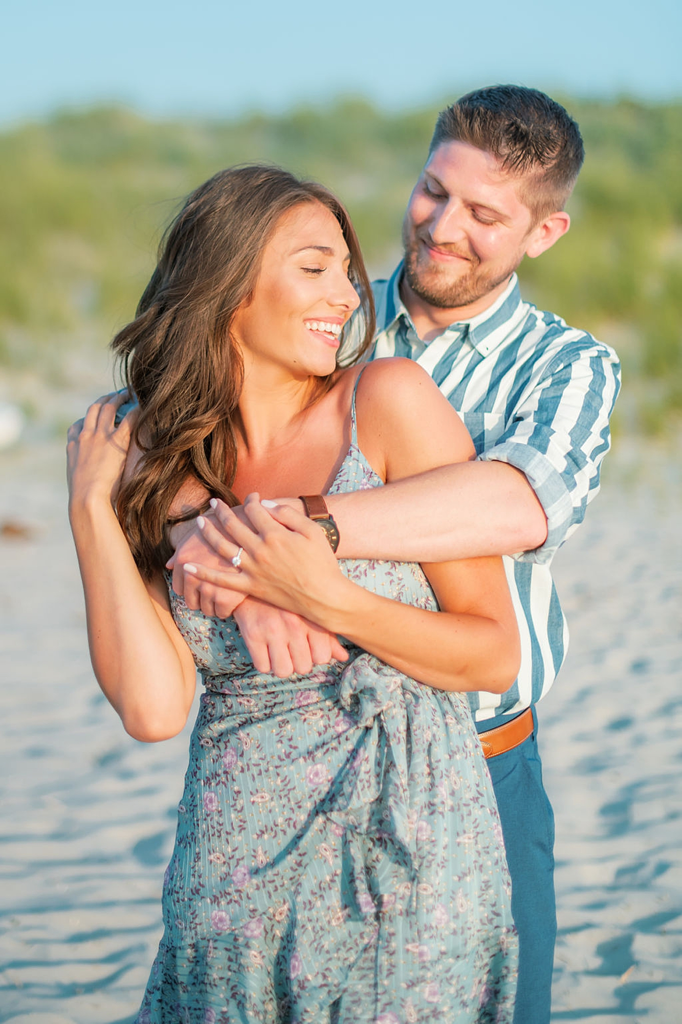 Bright and Fun Engagement Photography in Ocean City NJ by Magdalena Studios 0005