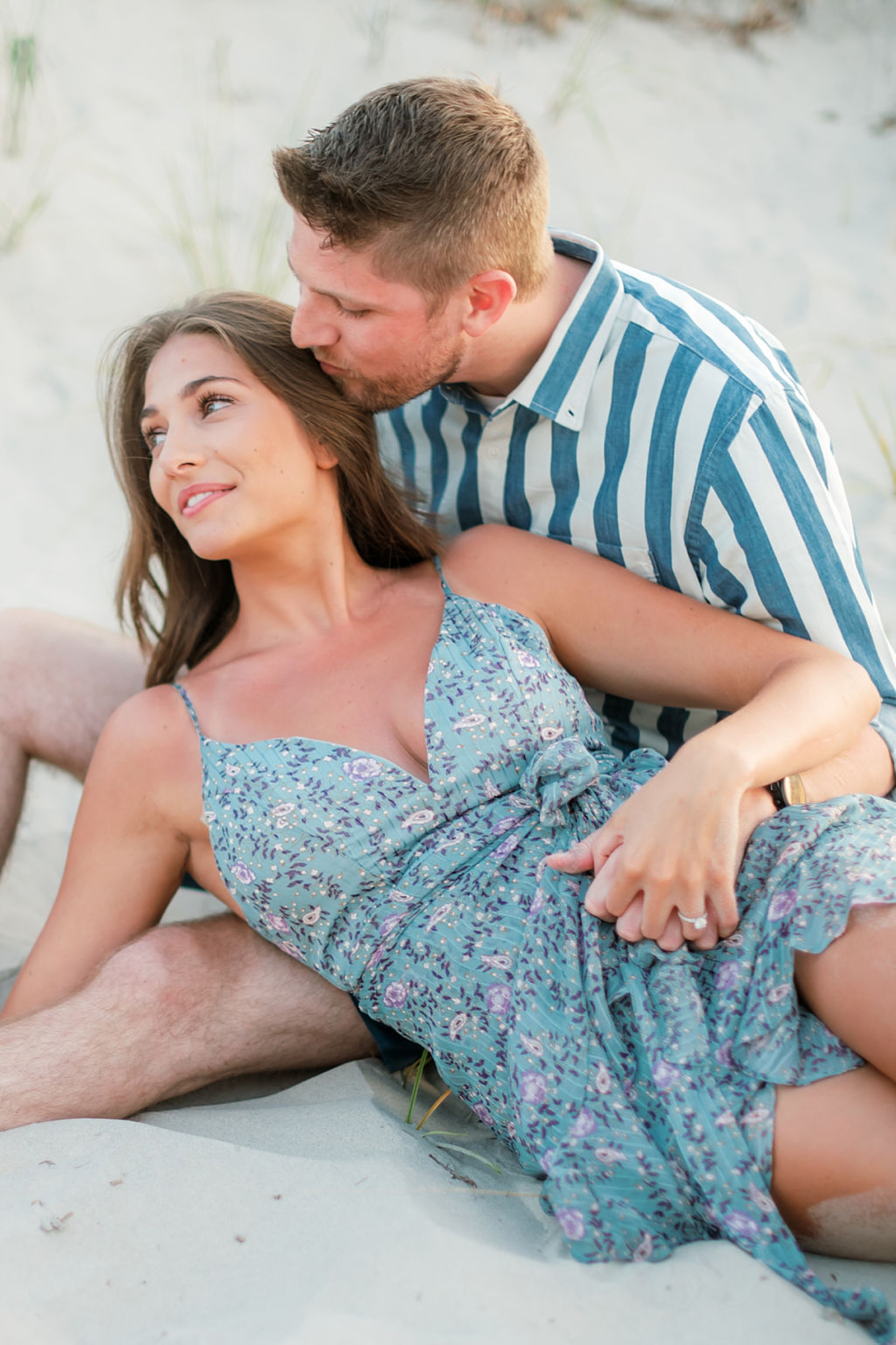 Bright and Fun Engagement Photography in Ocean City NJ by Magdalena Studios 0018