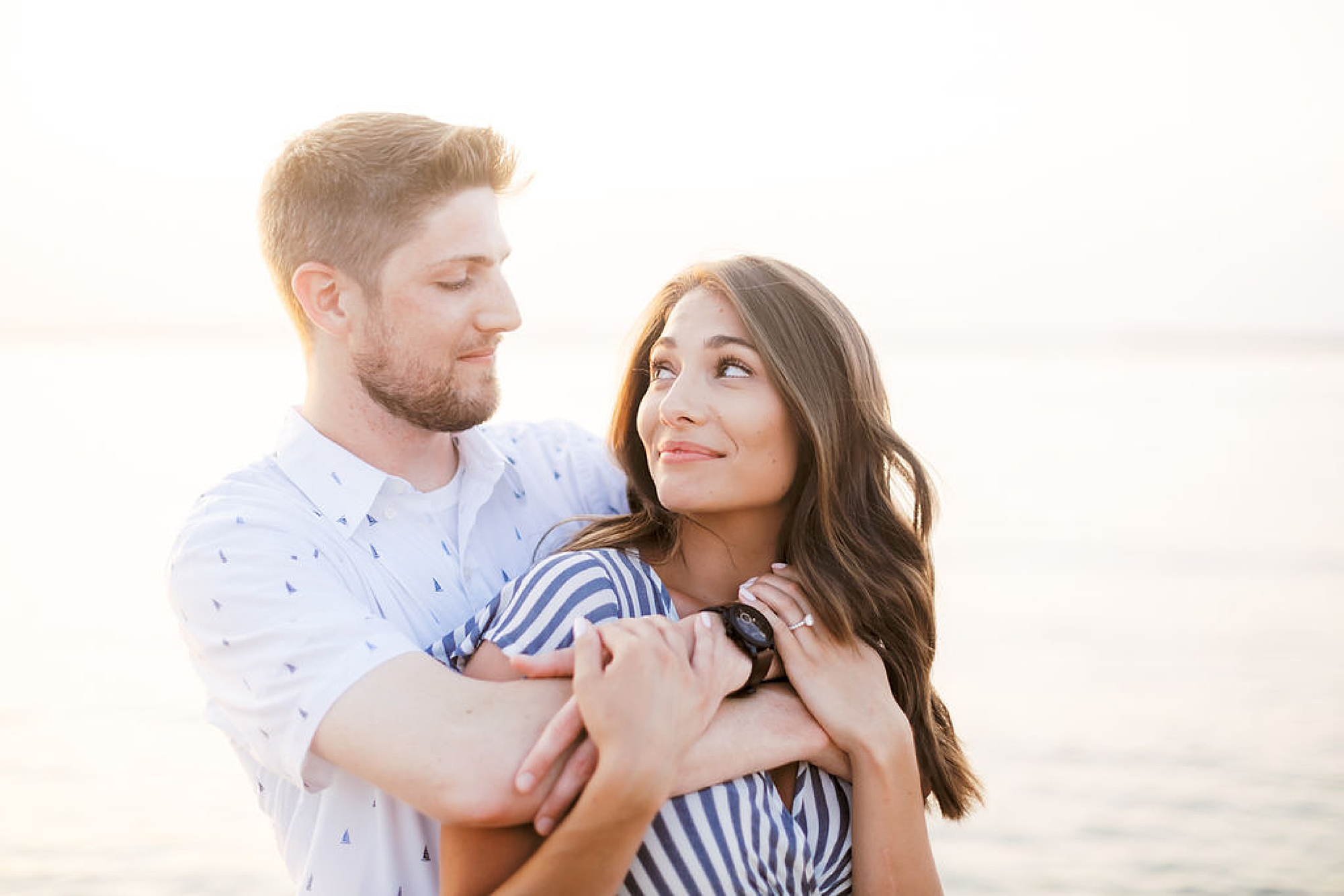 Bright and Fun Engagement Photography in Ocean City NJ by Magdalena Studios 0033