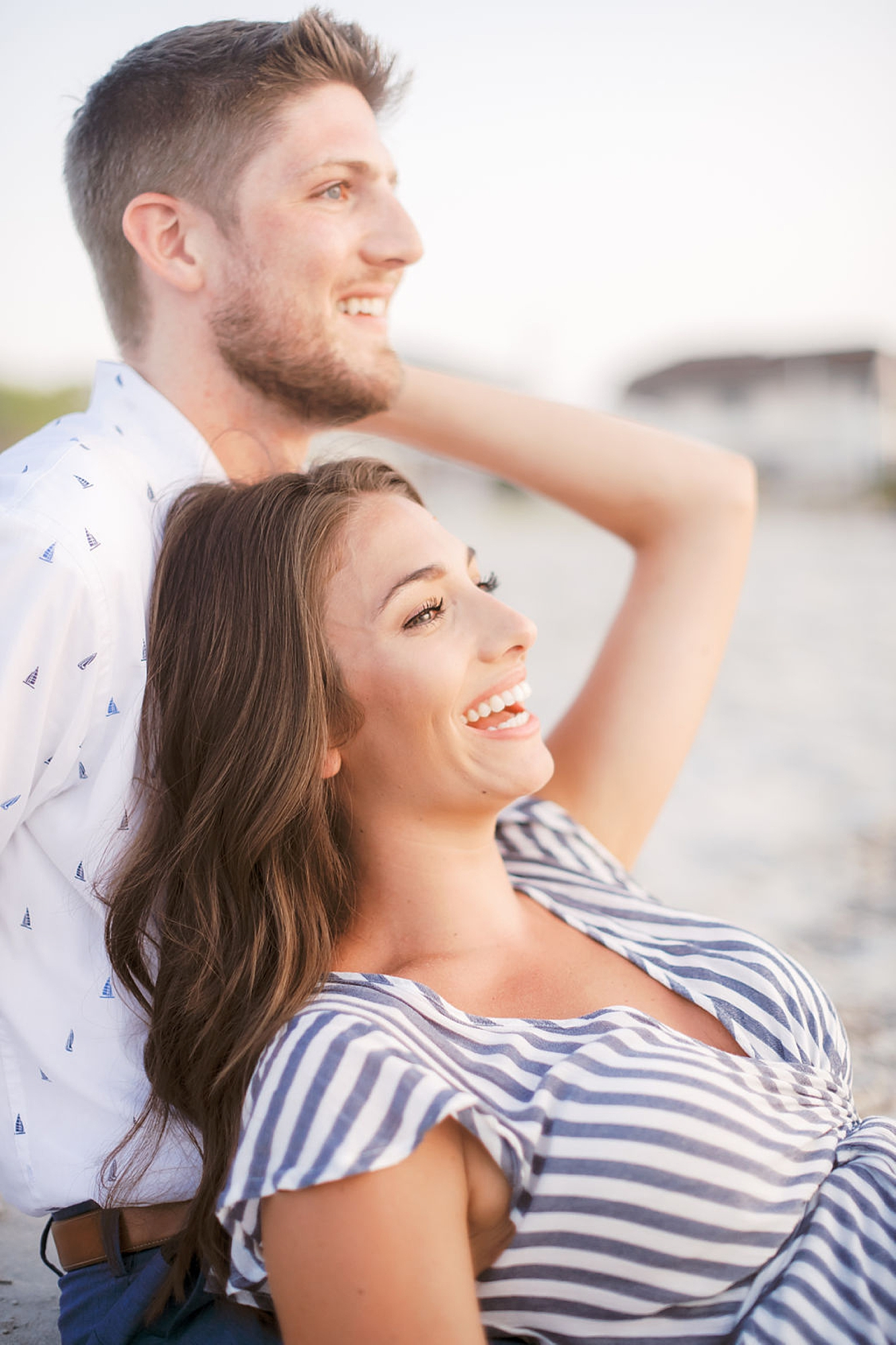 Bright and Fun Engagement Photography in Ocean City NJ by Magdalena Studios 0044