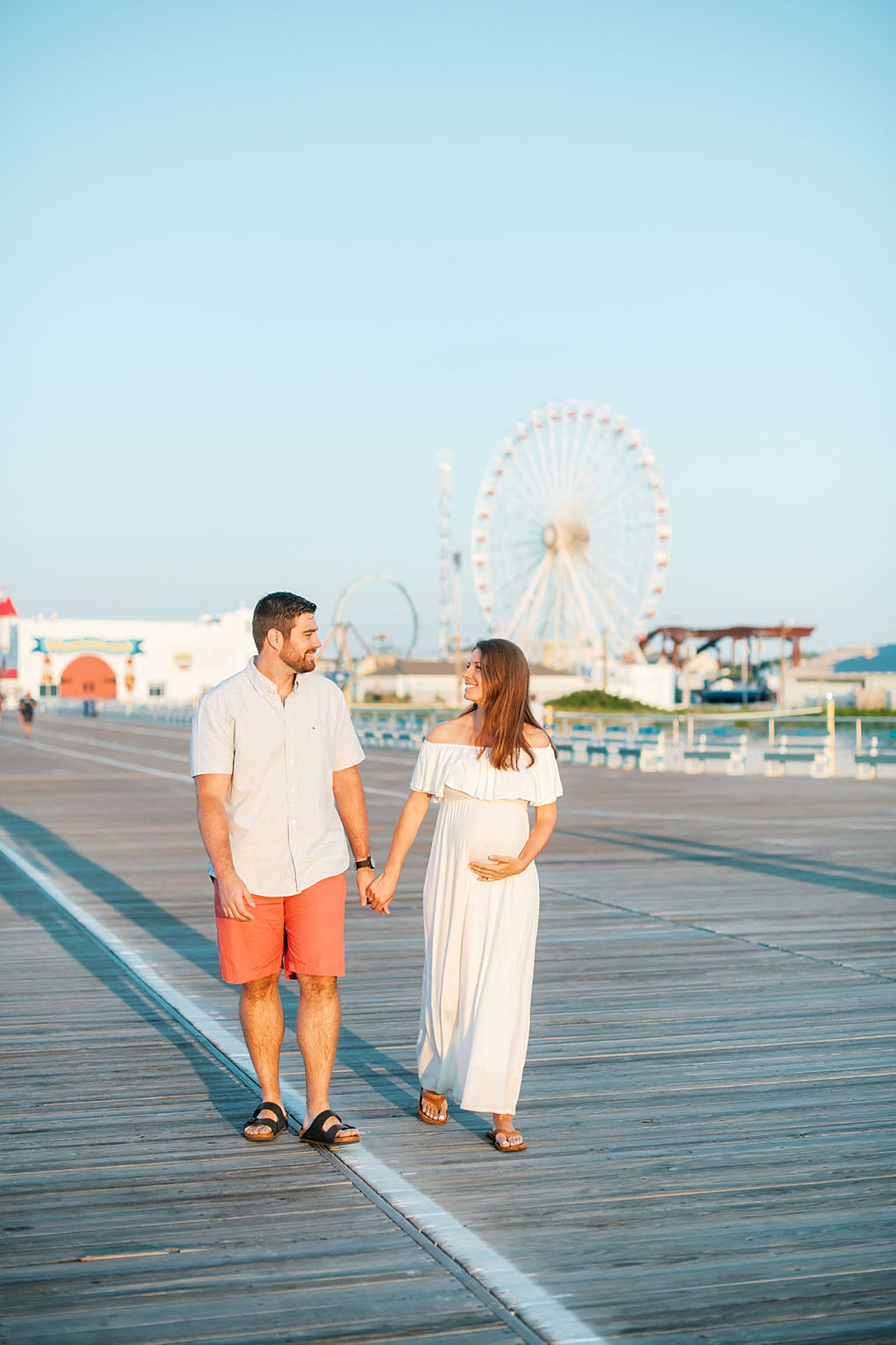 Glowy and Romantic Maternity Photography in Ocean City NJ by Magdalena Studios 0014