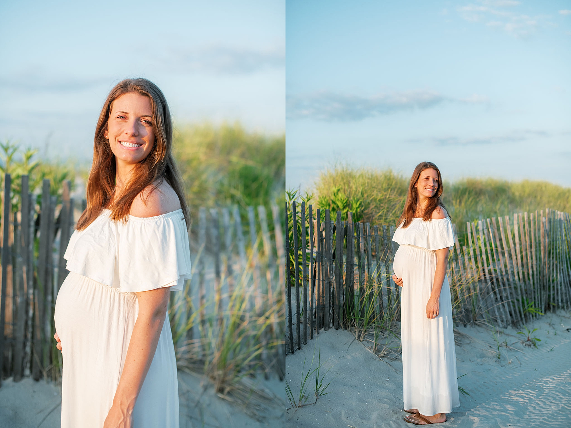 Glowy and Romantic Maternity Photography in Ocean City NJ by Magdalena Studios 0015