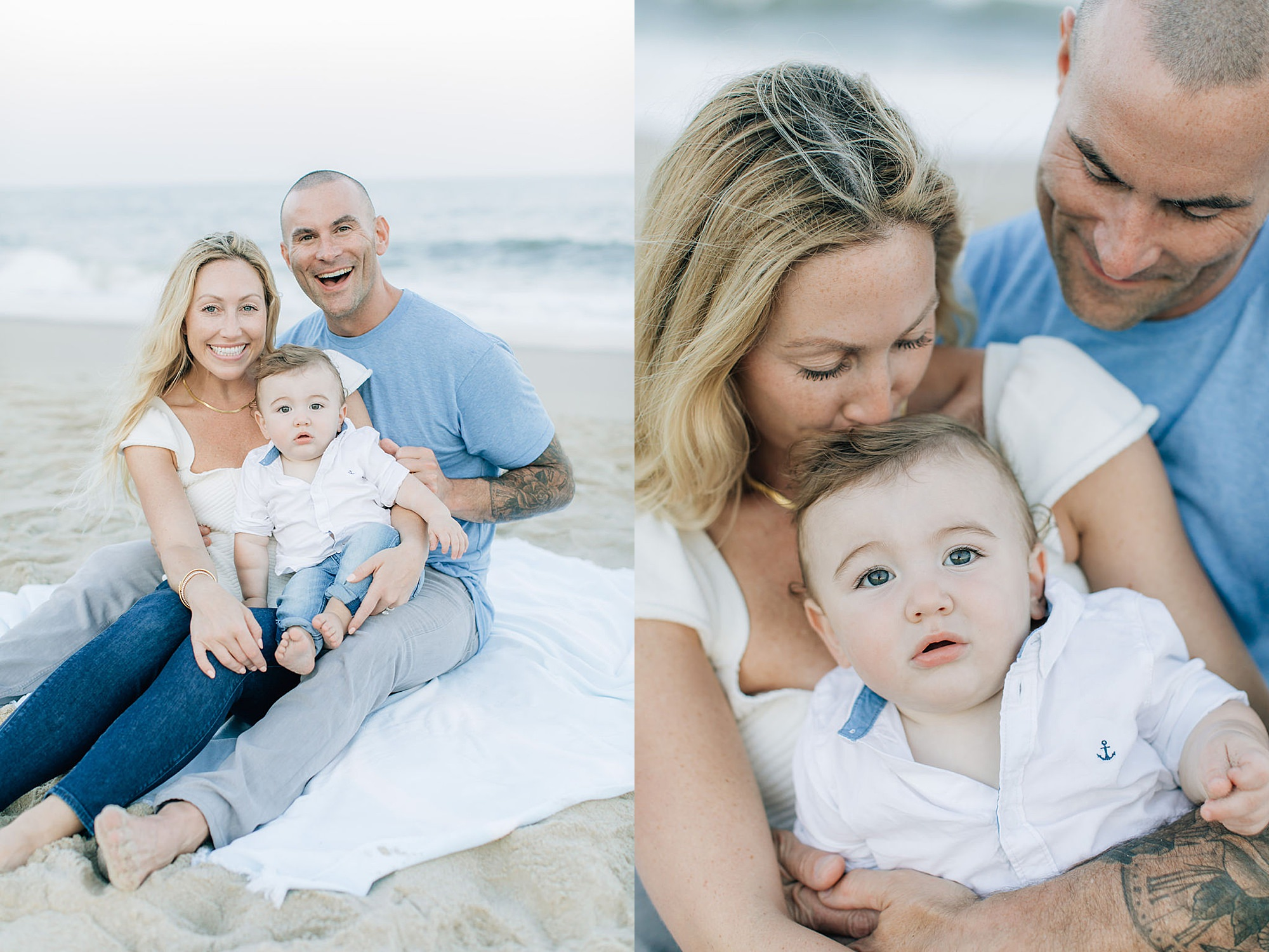 Long Branch NJ Film Family Portrait Photography by Magdalena Studios 0010